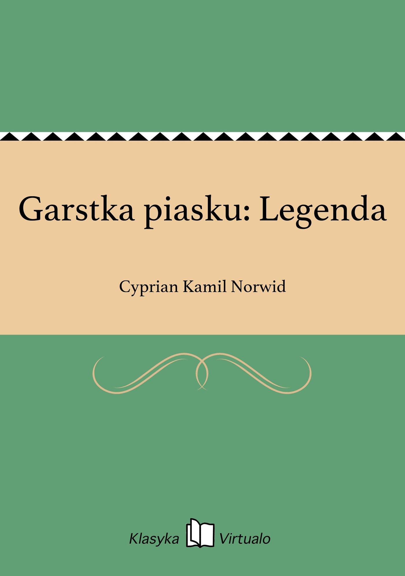 Garstka piasku: Legenda - Ebook (Książka EPUB) do pobrania w formacie EPUB
