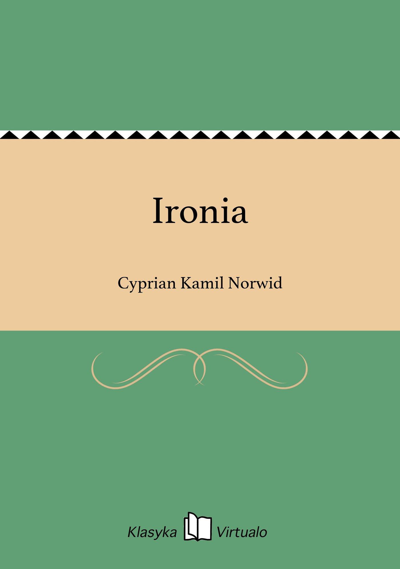 Ironia - Ebook (Książka EPUB) do pobrania w formacie EPUB