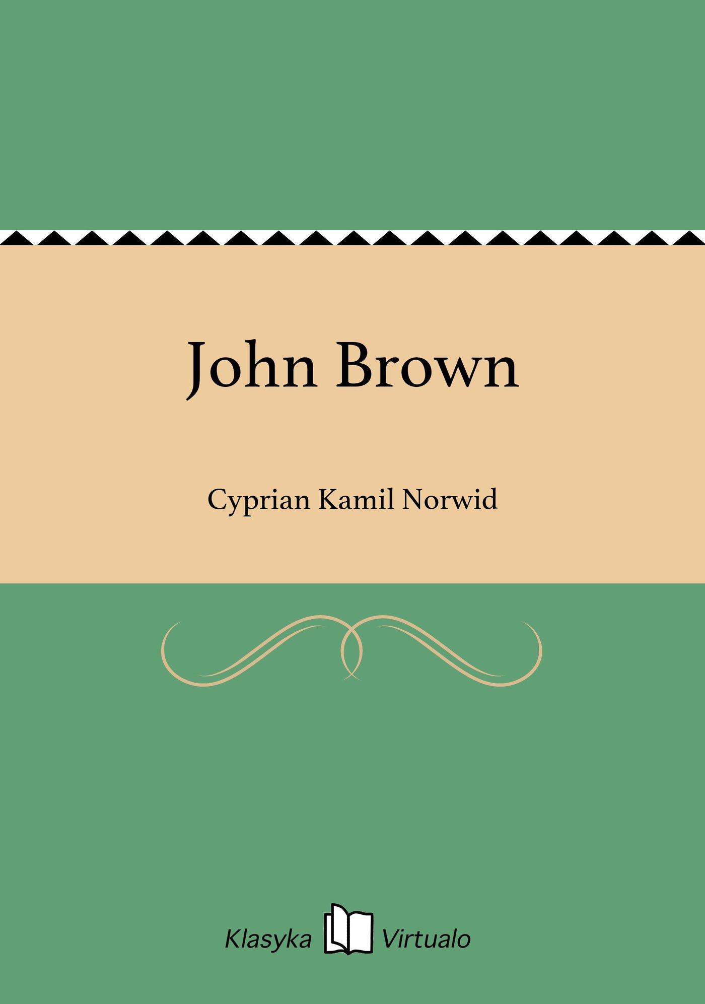 John Brown - Ebook (Książka EPUB) do pobrania w formacie EPUB