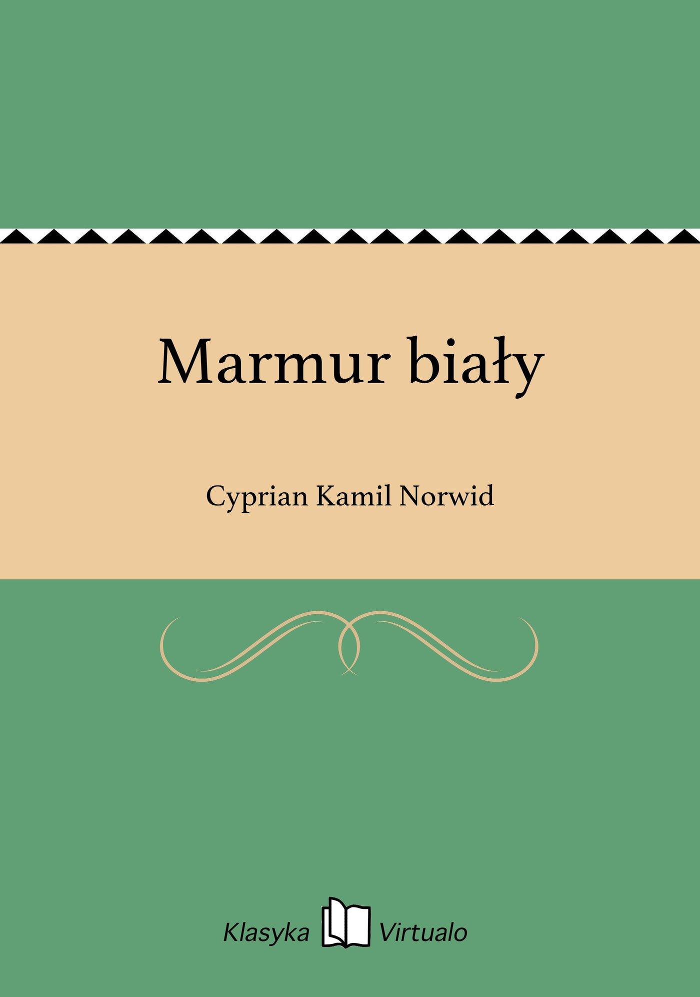 Marmur biały - Ebook (Książka EPUB) do pobrania w formacie EPUB