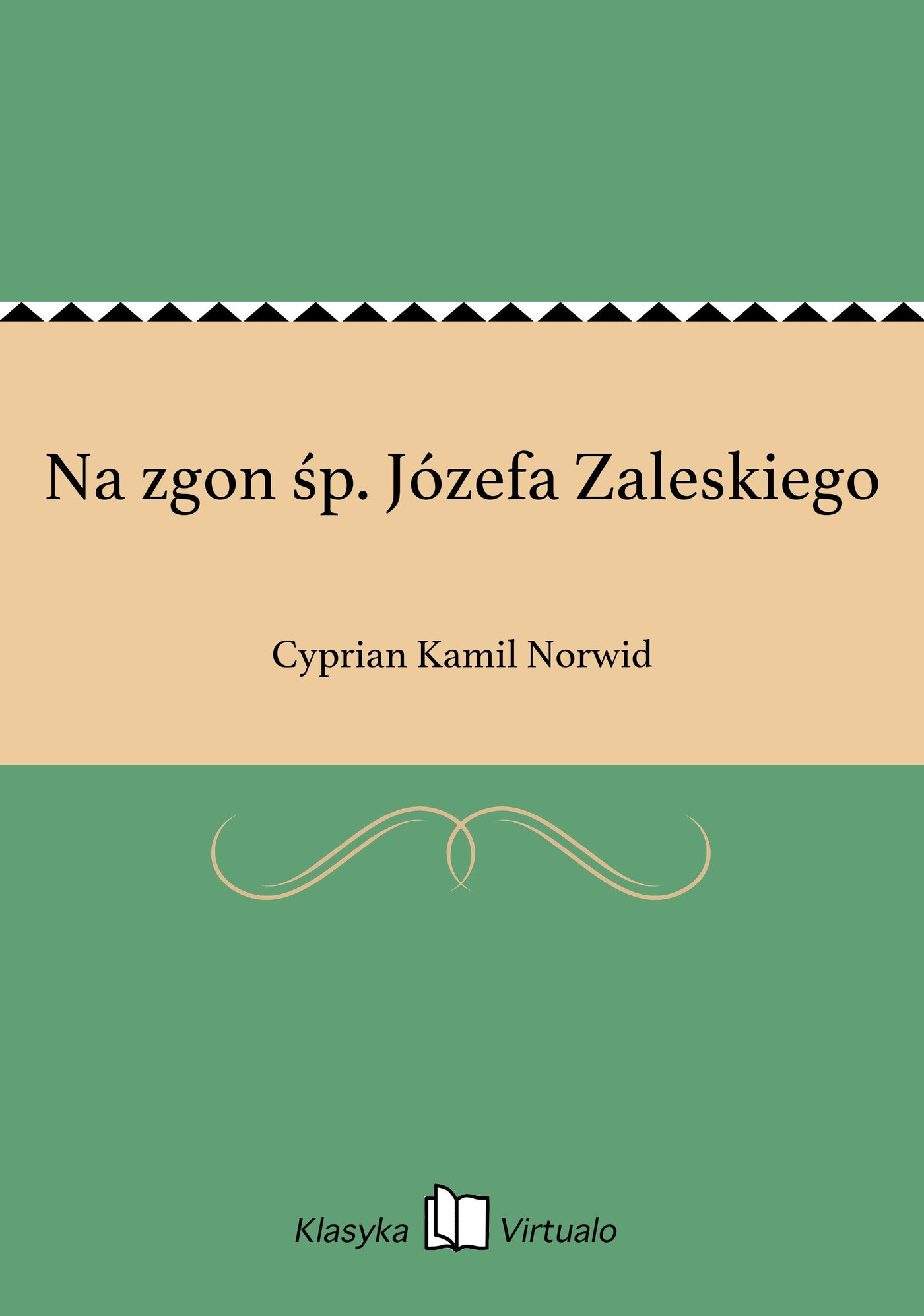 Na zgon śp. Józefa Zaleskiego - Ebook (Książka EPUB) do pobrania w formacie EPUB