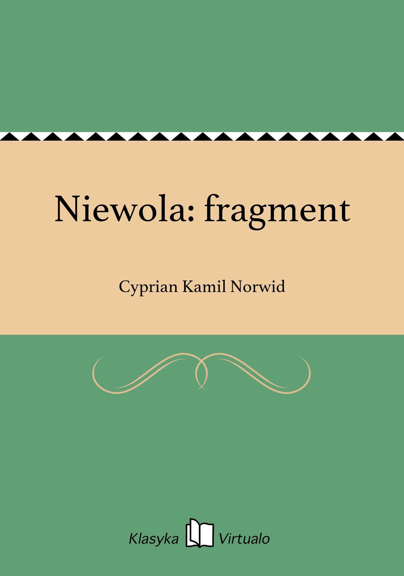 Niewola: fragment - Ebook (Książka EPUB) do pobrania w formacie EPUB
