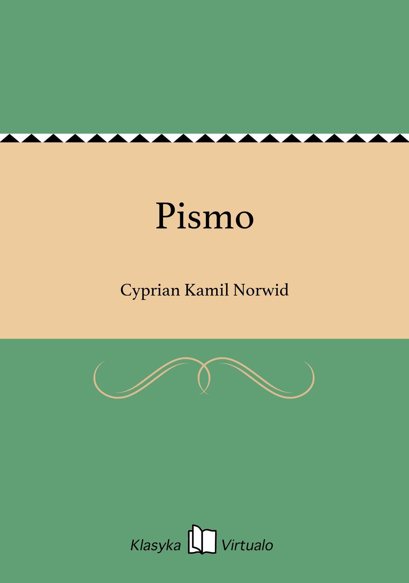 Pismo - Ebook (Książka EPUB) do pobrania w formacie EPUB