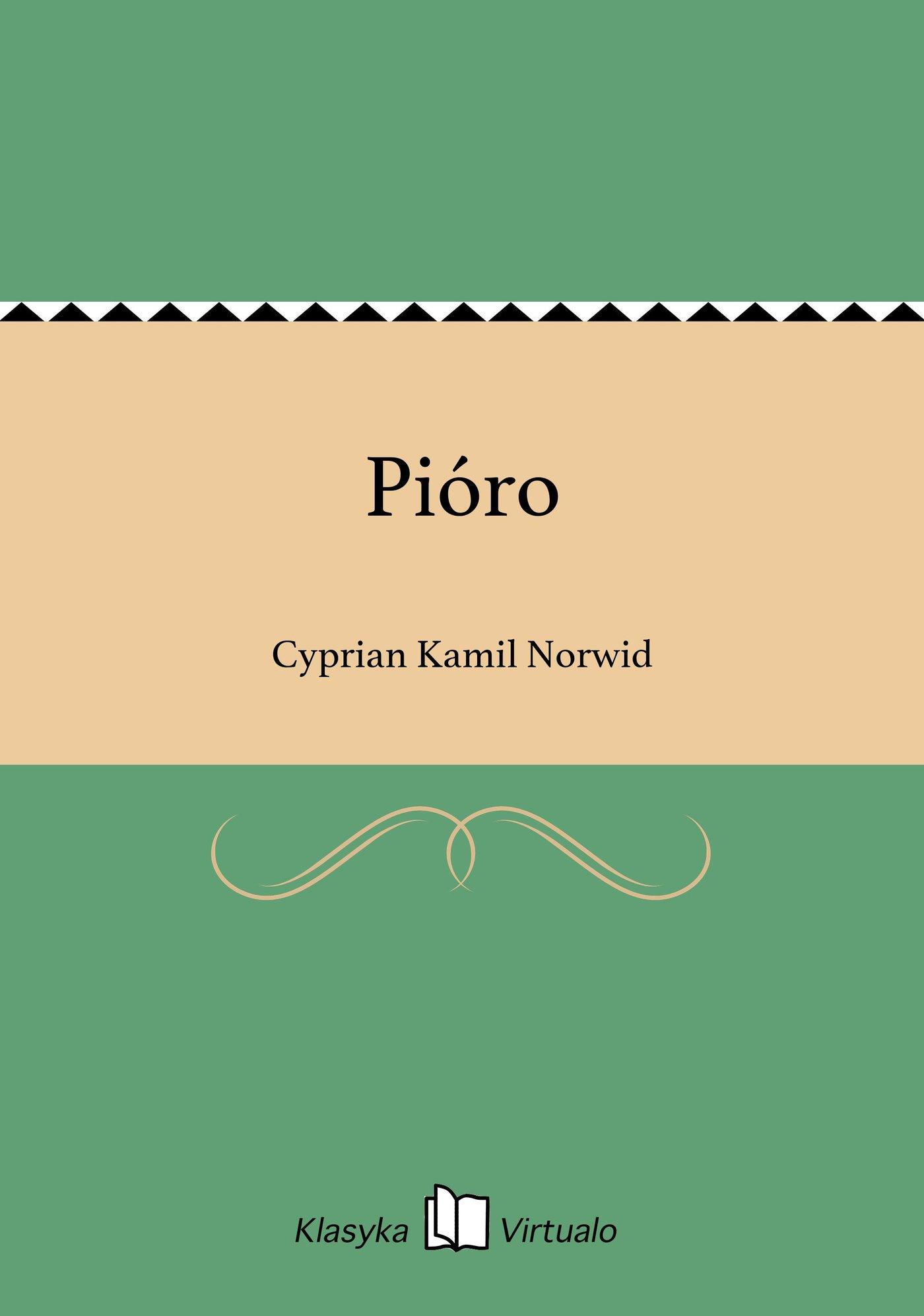 Pióro - Ebook (Książka EPUB) do pobrania w formacie EPUB