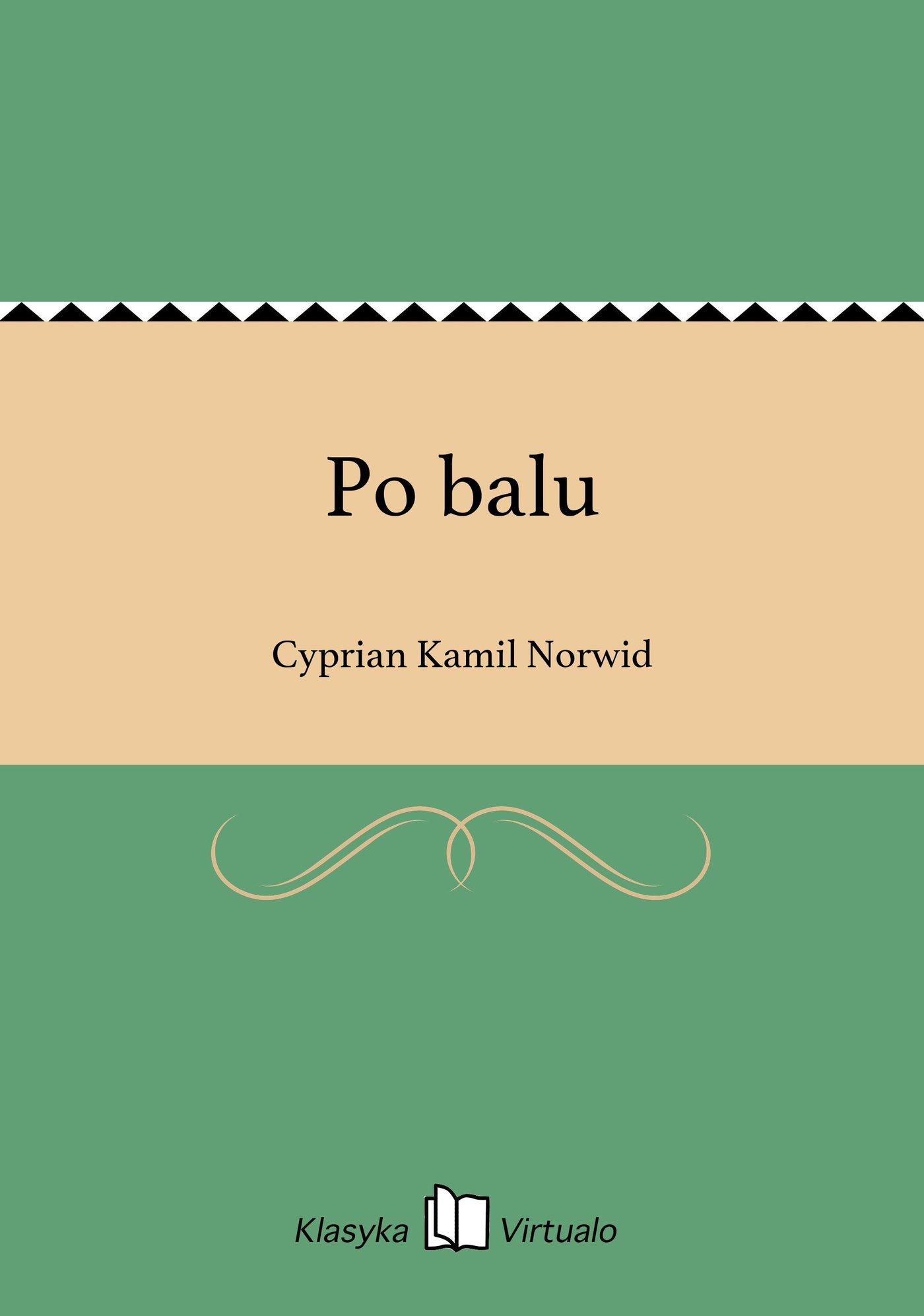 Po balu - Ebook (Książka EPUB) do pobrania w formacie EPUB