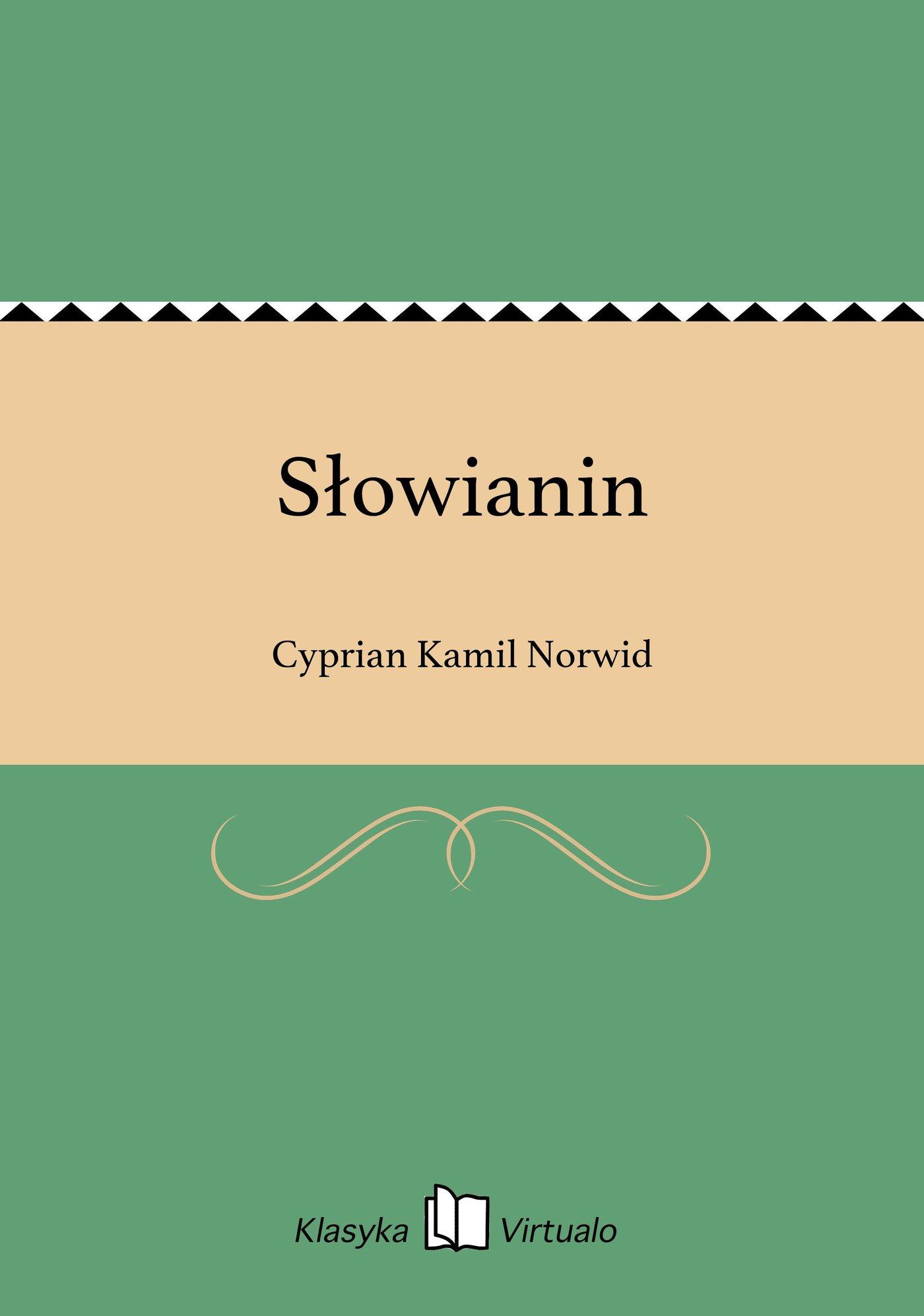 Słowianin - Ebook (Książka EPUB) do pobrania w formacie EPUB