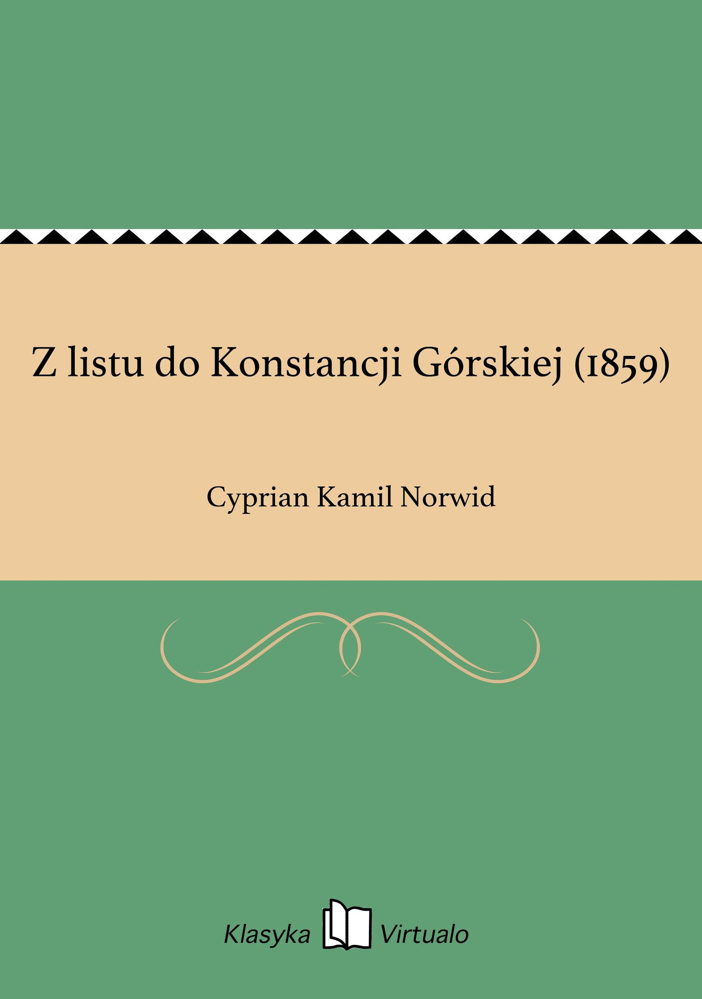 Z listu do Konstancji Górskiej (1859) - Ebook (Książka EPUB) do pobrania w formacie EPUB