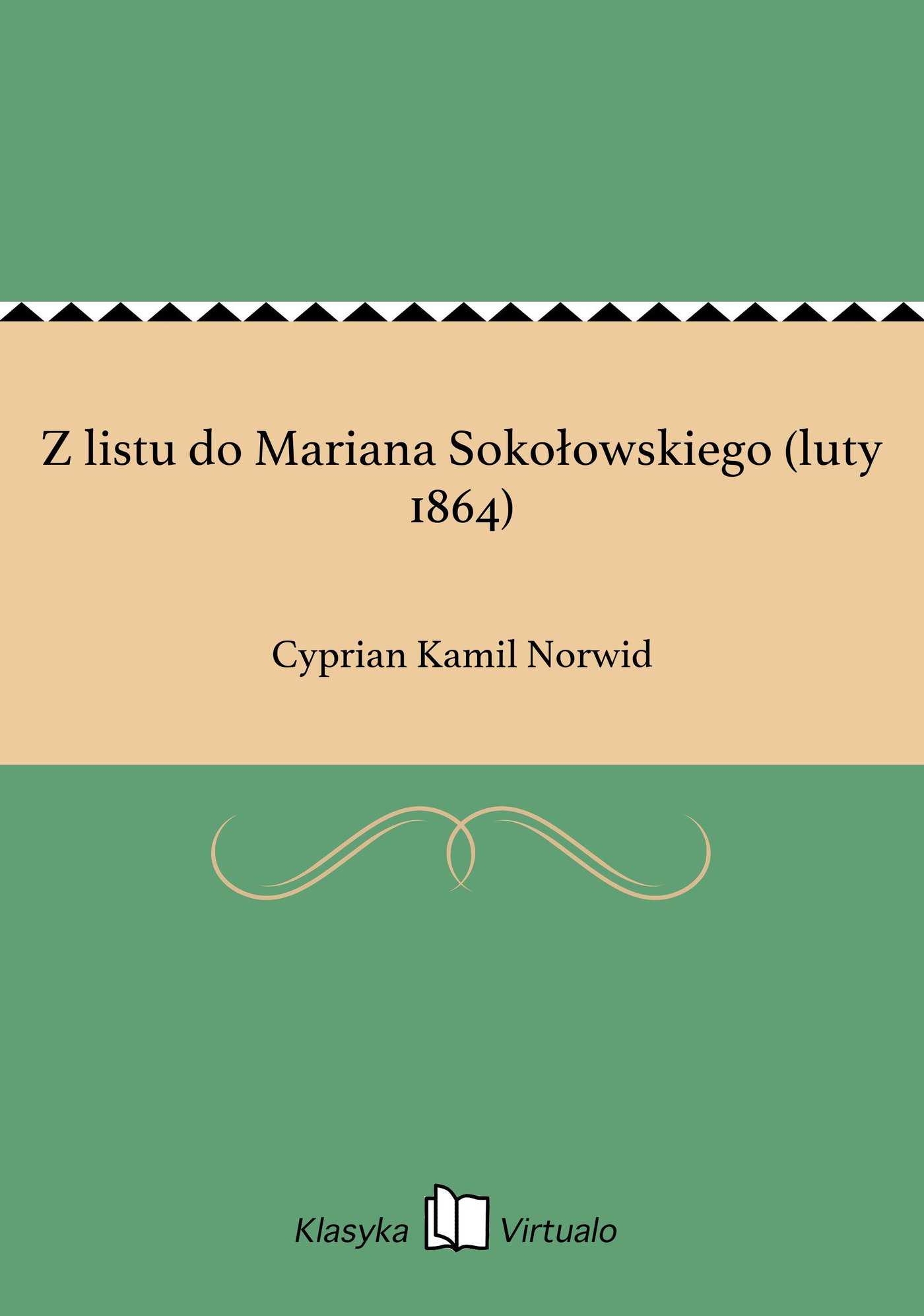 Z listu do Mariana Sokołowskiego (luty 1864) - Ebook (Książka EPUB) do pobrania w formacie EPUB