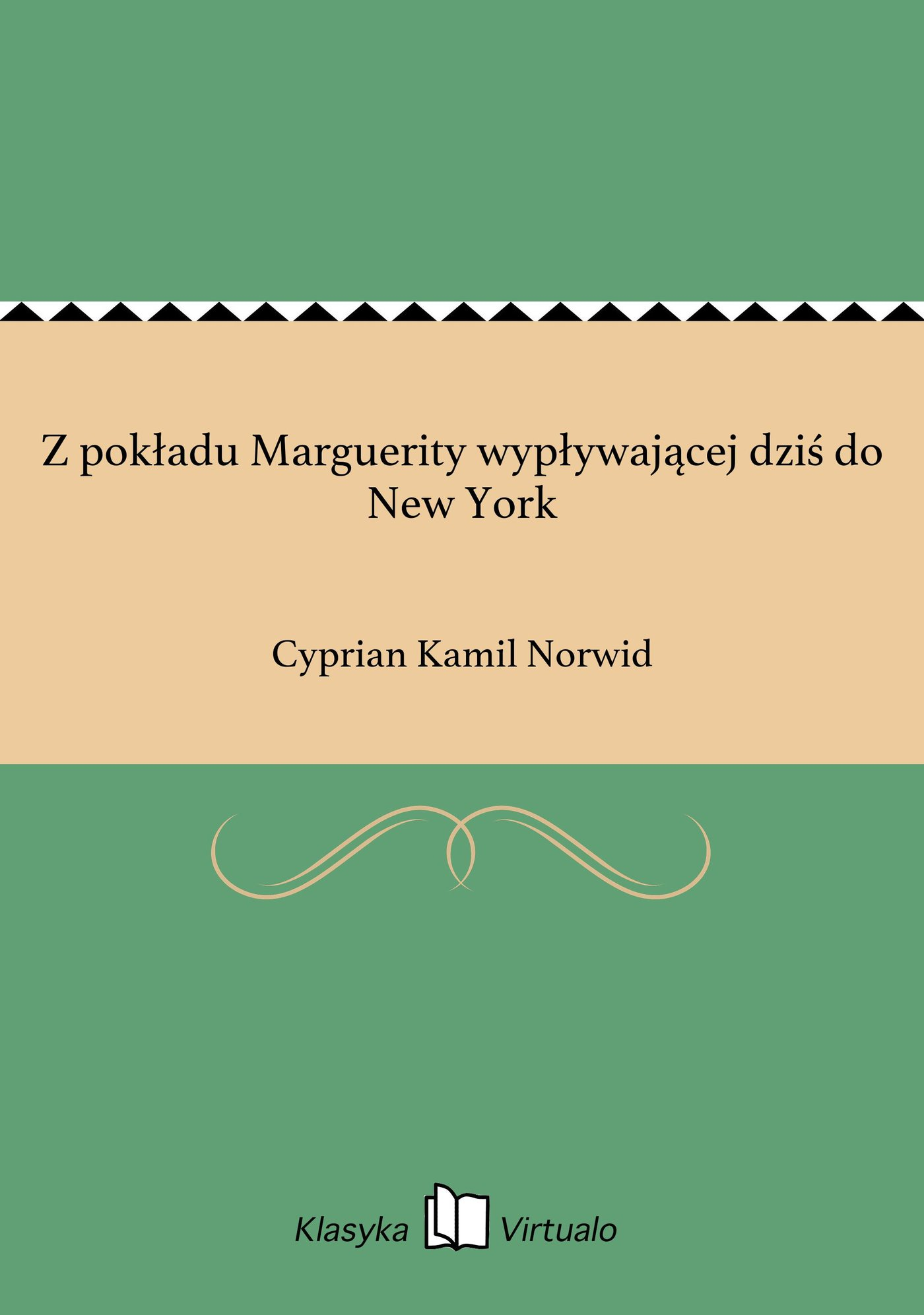 Z pokładu Marguerity wypływającej dziś do New York - Ebook (Książka EPUB) do pobrania w formacie EPUB