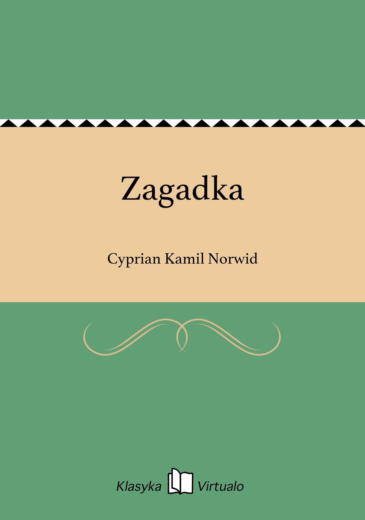 Zagadka - Ebook (Książka EPUB) do pobrania w formacie EPUB