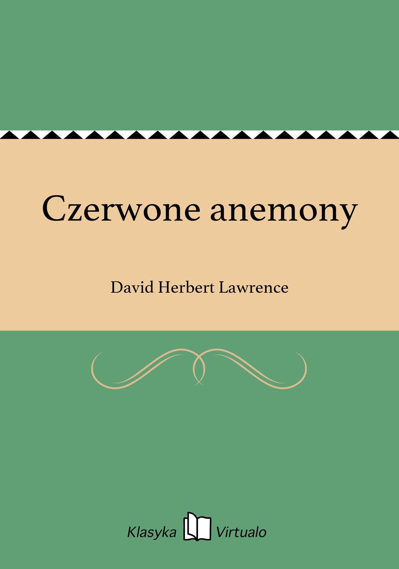 Czerwone anemony - Ebook (Książka EPUB) do pobrania w formacie EPUB