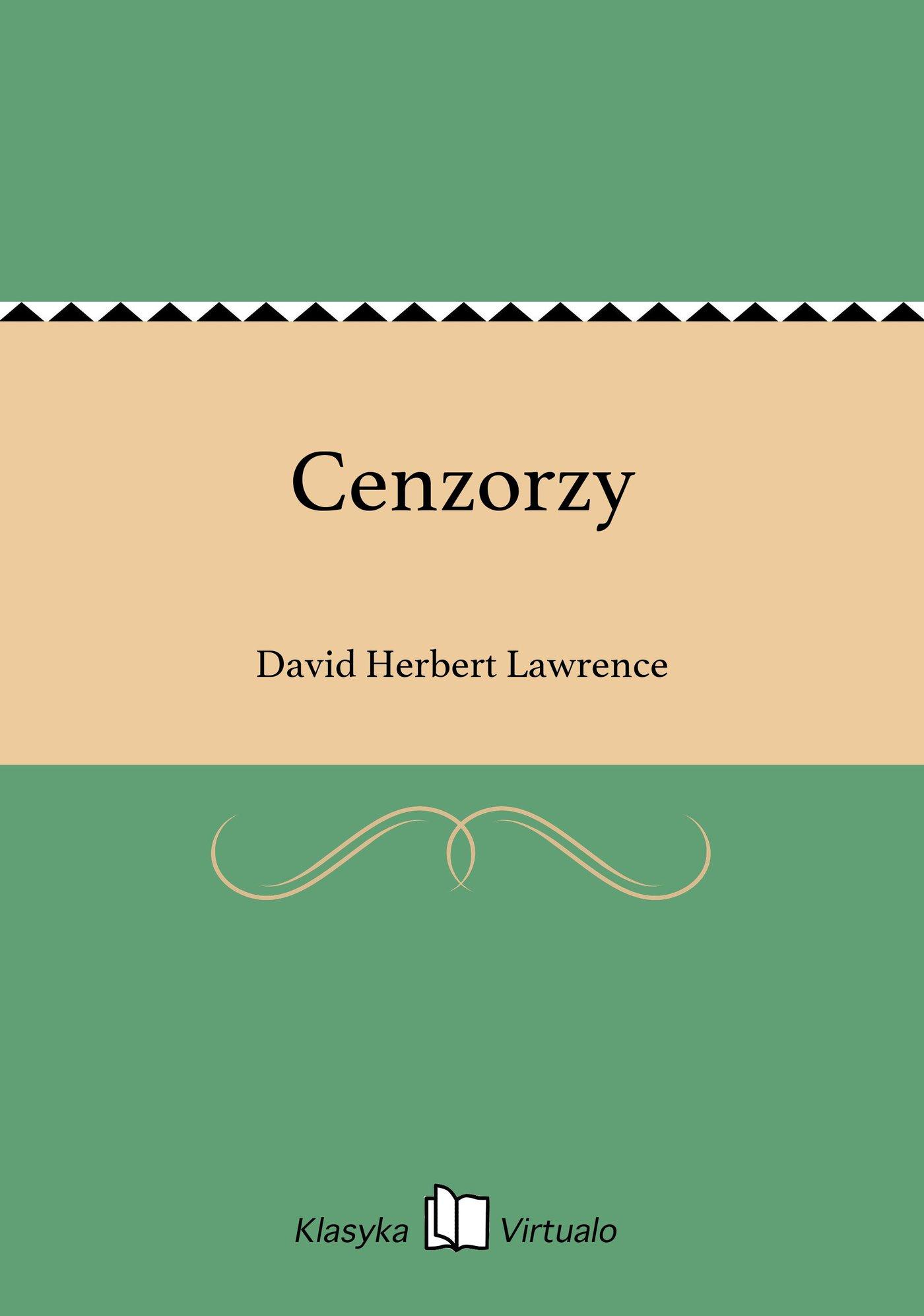 Cenzorzy - Ebook (Książka EPUB) do pobrania w formacie EPUB