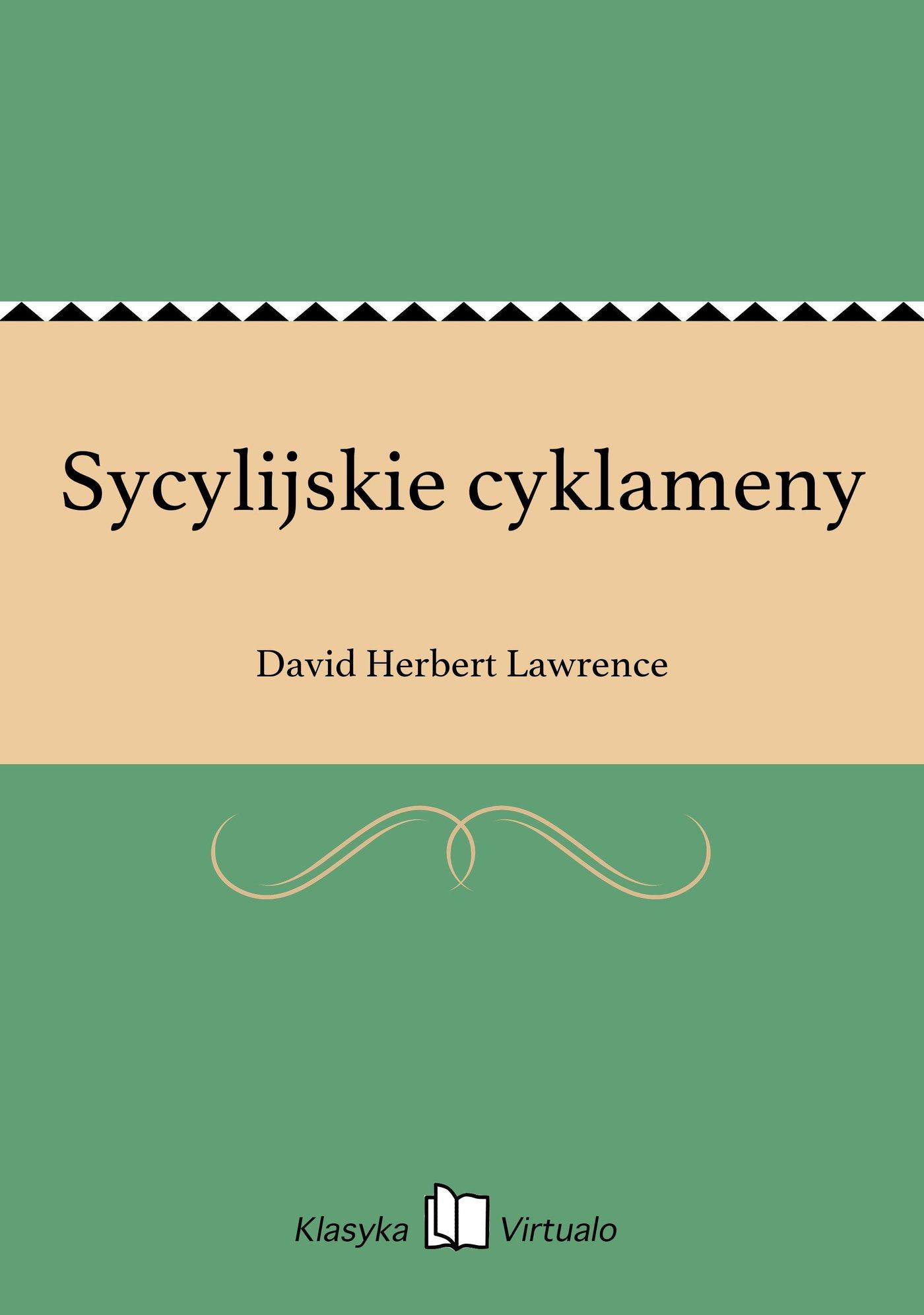 Sycylijskie cyklameny - Ebook (Książka EPUB) do pobrania w formacie EPUB