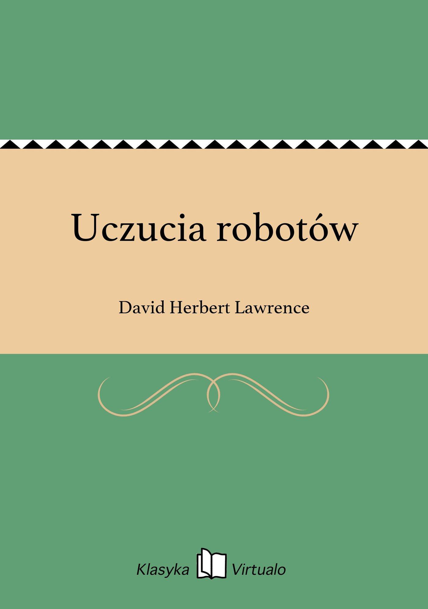 Uczucia robotów - Ebook (Książka EPUB) do pobrania w formacie EPUB