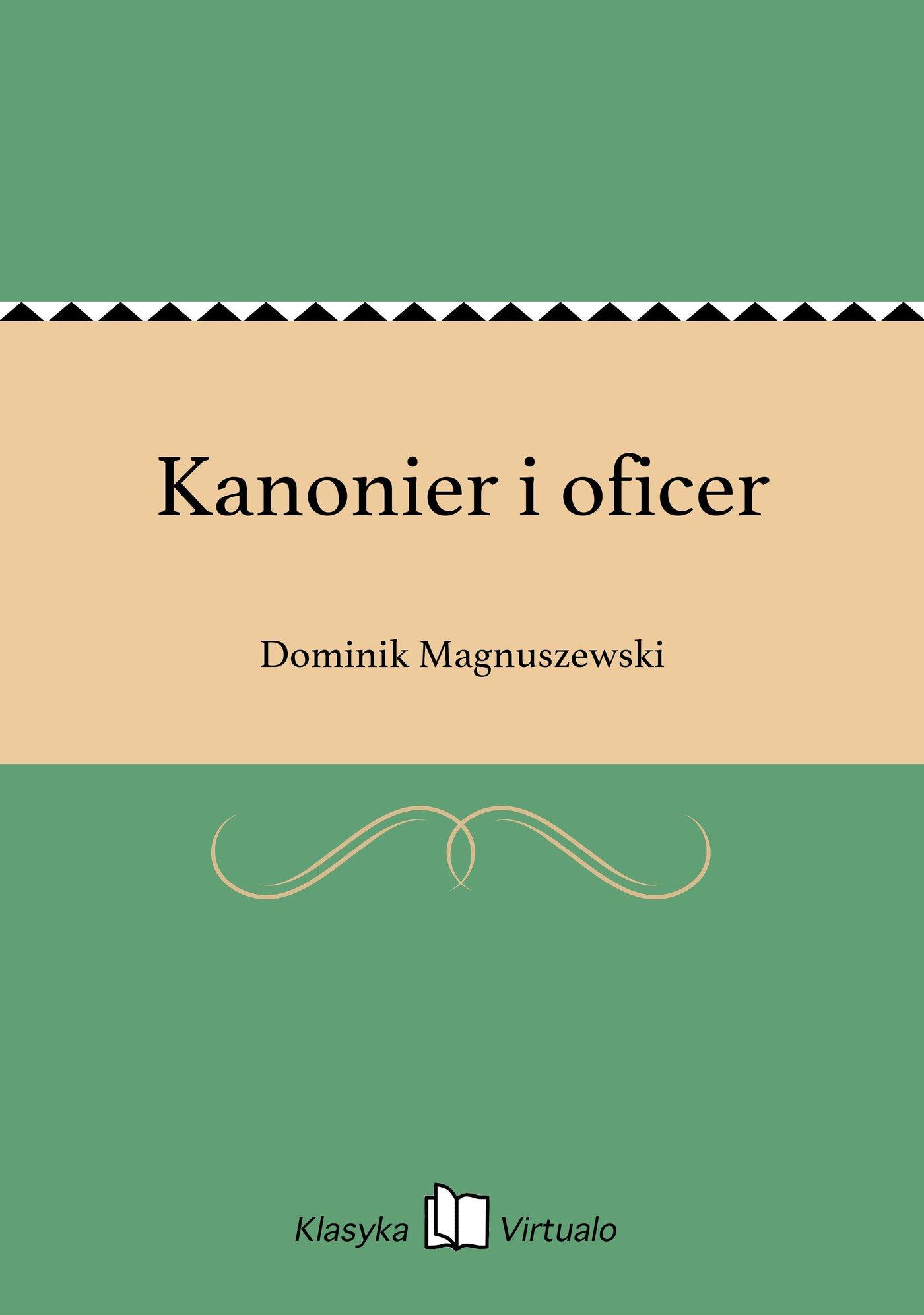Kanonier i oficer - Ebook (Książka EPUB) do pobrania w formacie EPUB