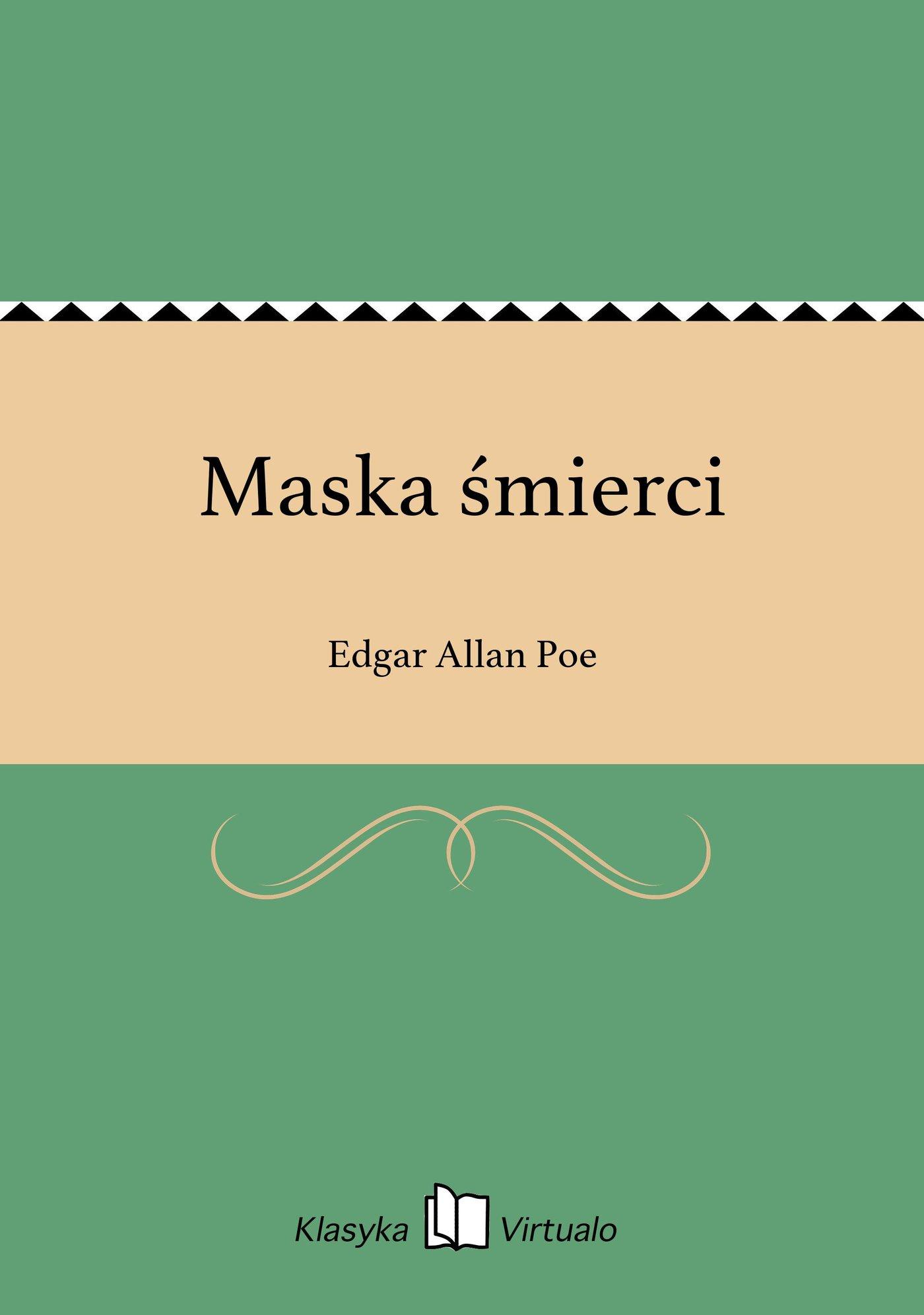 Maska śmierci - Ebook (Książka EPUB) do pobrania w formacie EPUB