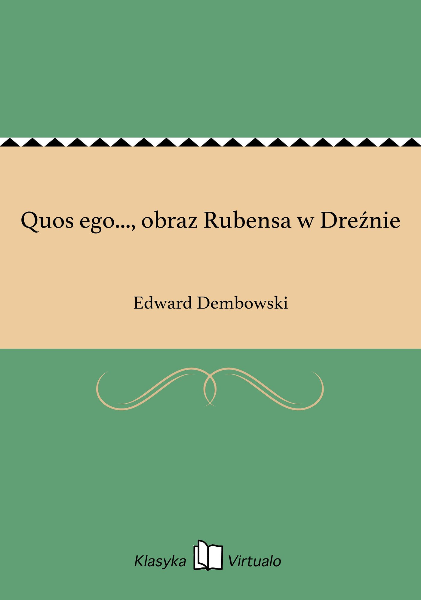 Quos ego..., obraz Rubensa w Dreźnie - Ebook (Książka EPUB) do pobrania w formacie EPUB