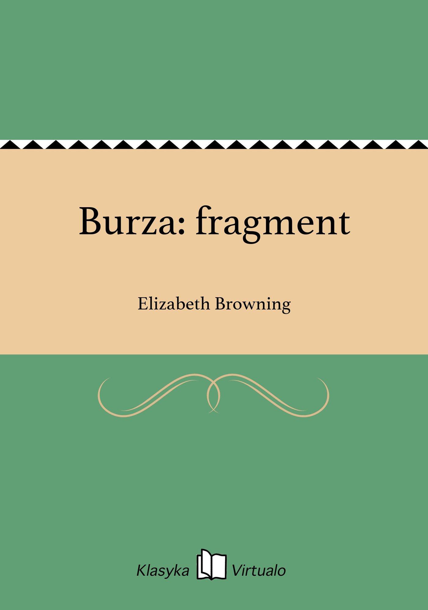 Burza: fragment - Ebook (Książka EPUB) do pobrania w formacie EPUB