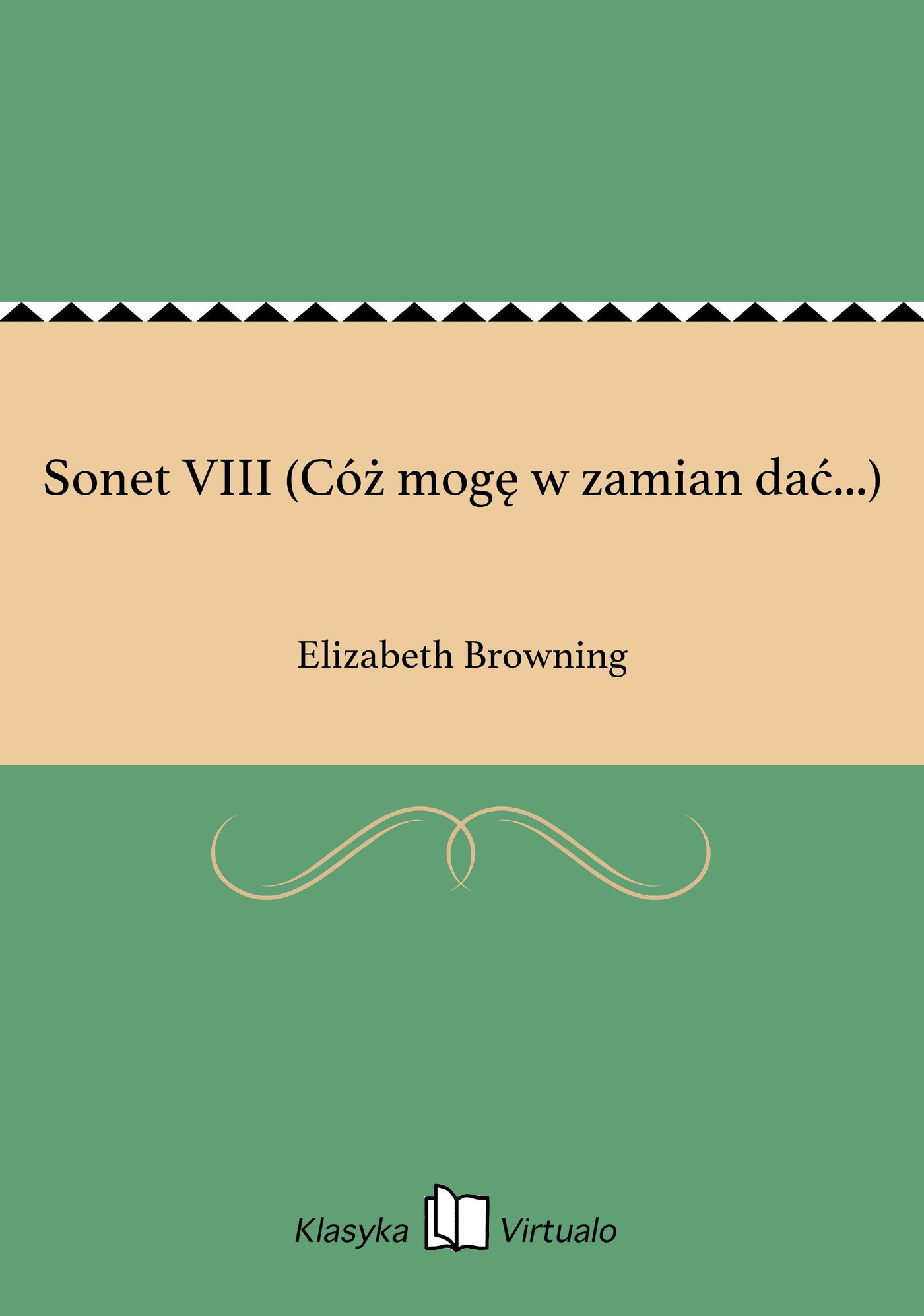 Sonet VIII (Cóż mogę w zamian dać...) - Ebook (Książka EPUB) do pobrania w formacie EPUB