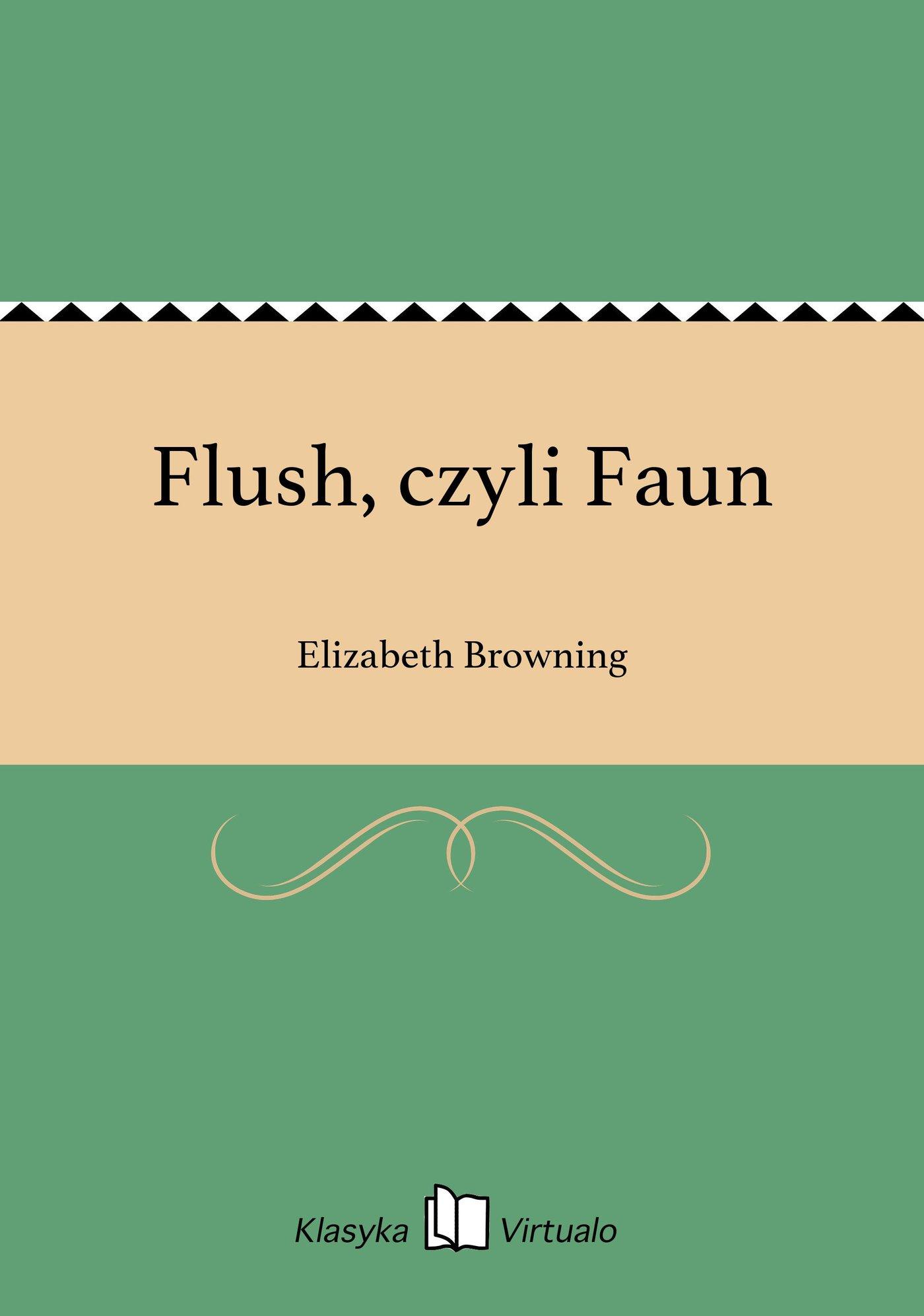Flush, czyli Faun - Ebook (Książka EPUB) do pobrania w formacie EPUB