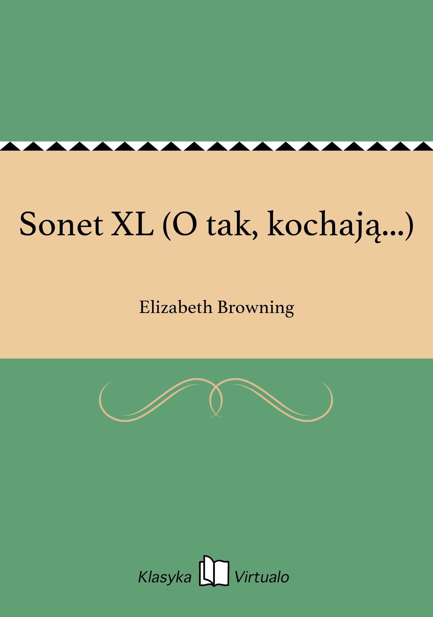 Sonet XL (O tak, kochają...) - Ebook (Książka EPUB) do pobrania w formacie EPUB