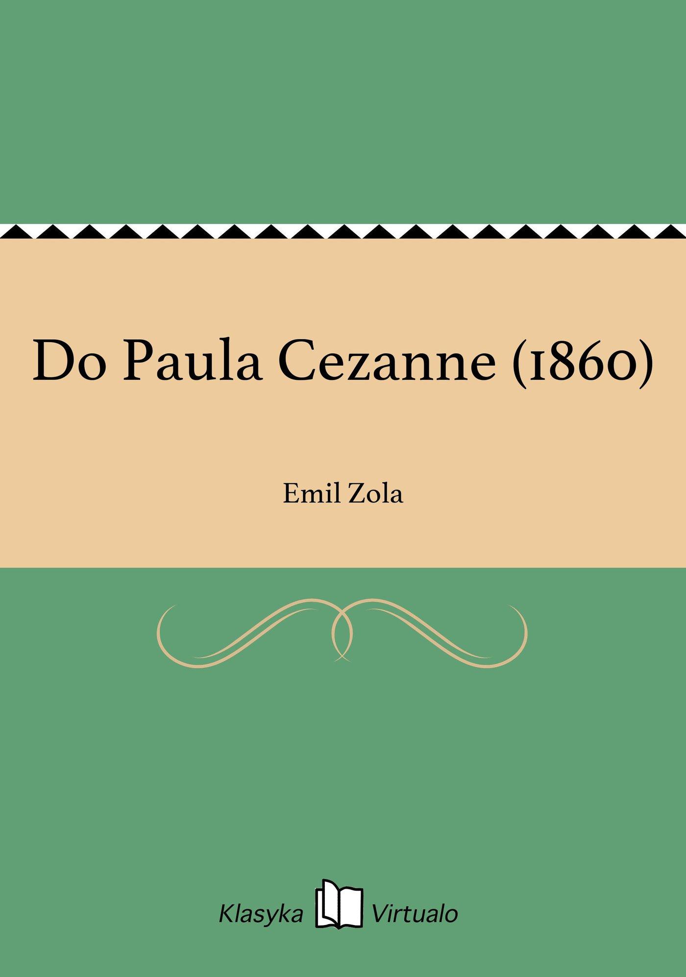 Do Paula Cezanne (1860) - Ebook (Książka EPUB) do pobrania w formacie EPUB