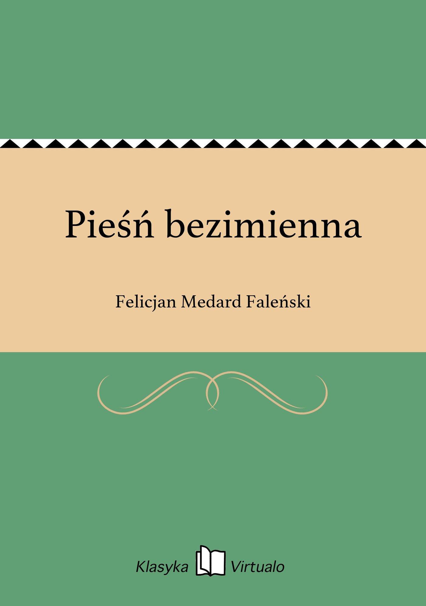 Pieśń bezimienna - Ebook (Książka EPUB) do pobrania w formacie EPUB
