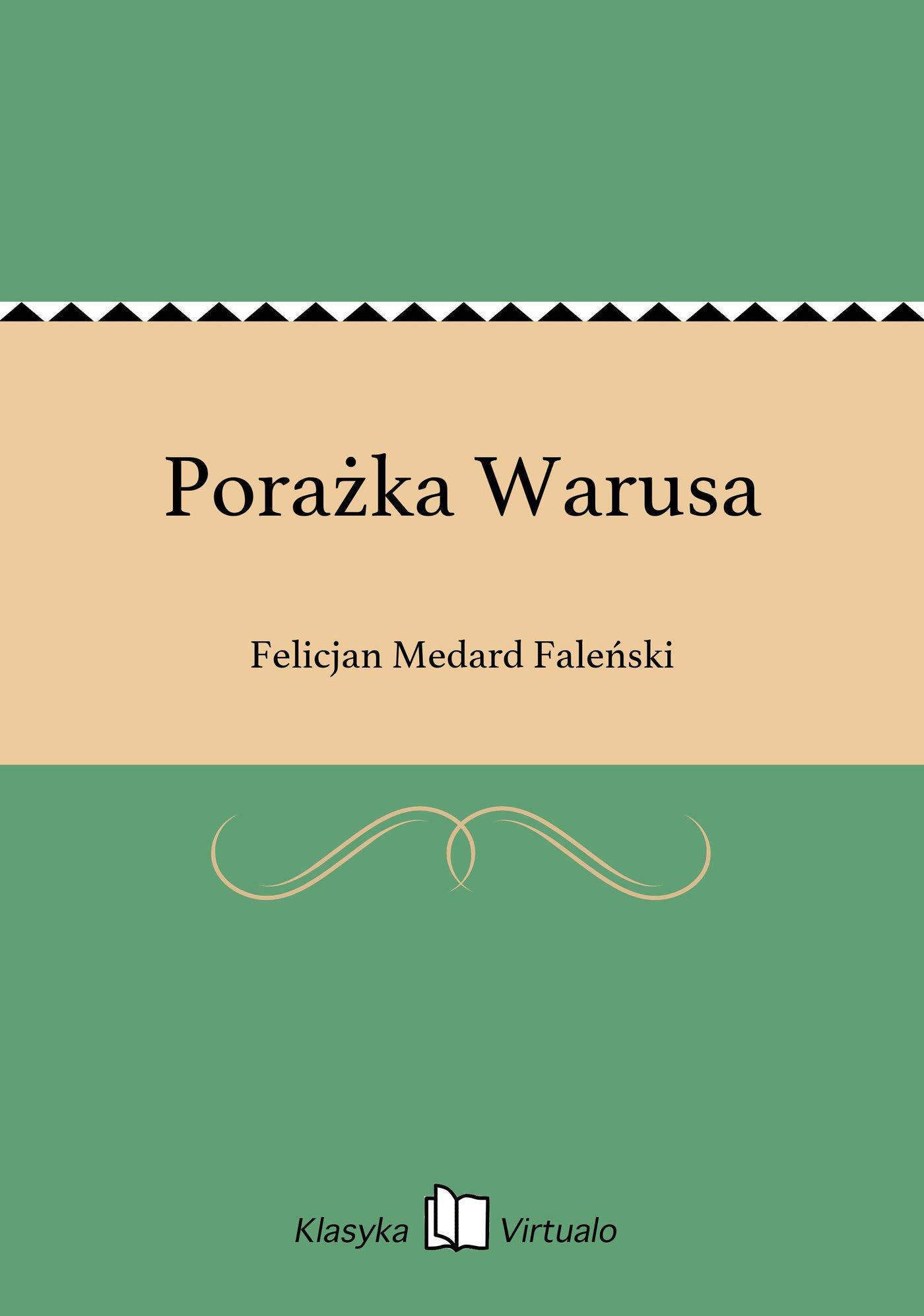 Porażka Warusa - Ebook (Książka EPUB) do pobrania w formacie EPUB