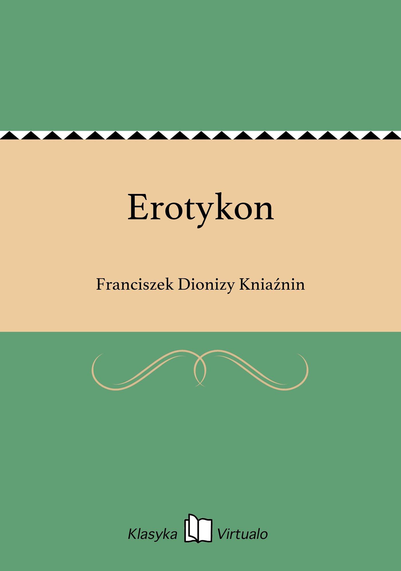 Erotykon - Ebook (Książka EPUB) do pobrania w formacie EPUB