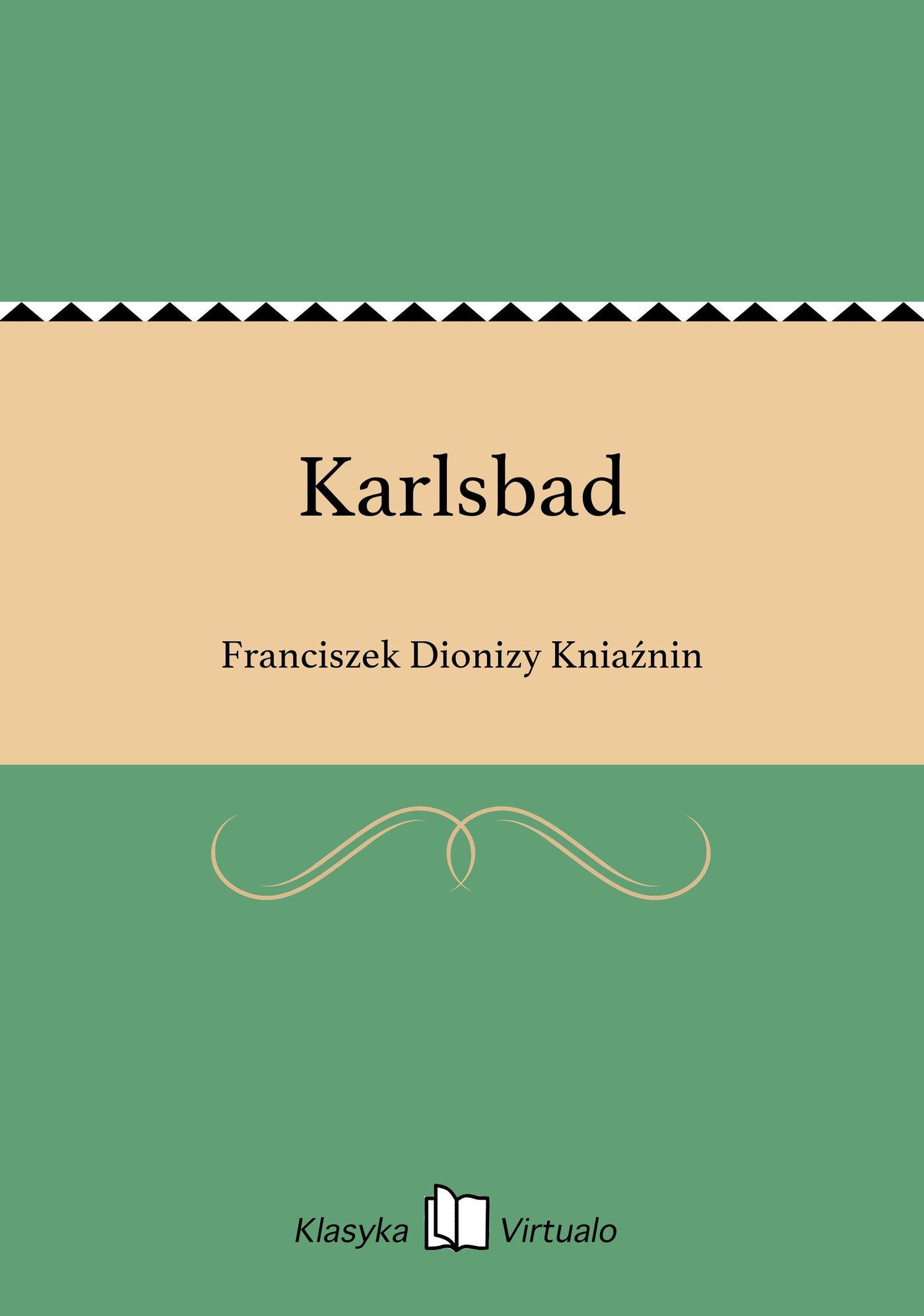 Karlsbad - Ebook (Książka EPUB) do pobrania w formacie EPUB