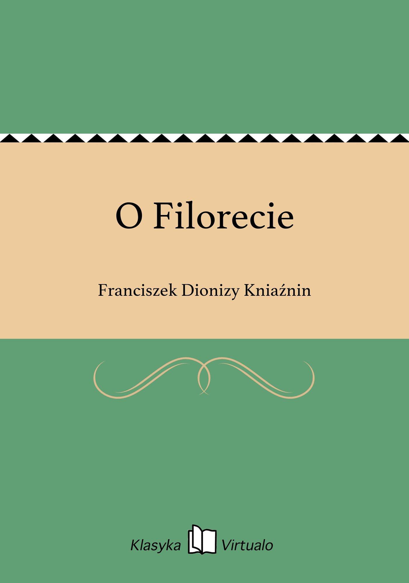 O Filorecie - Ebook (Książka EPUB) do pobrania w formacie EPUB