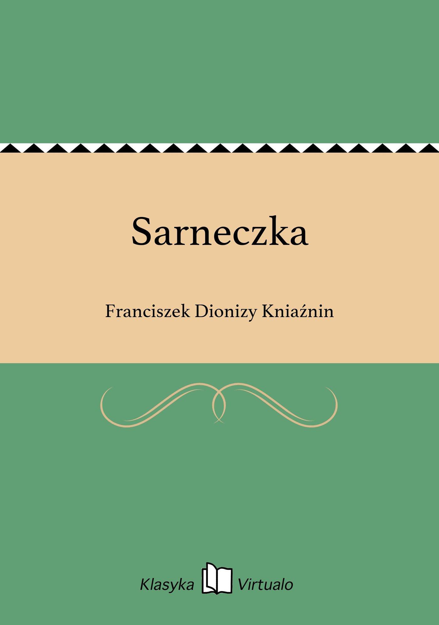 Sarneczka - Ebook (Książka EPUB) do pobrania w formacie EPUB