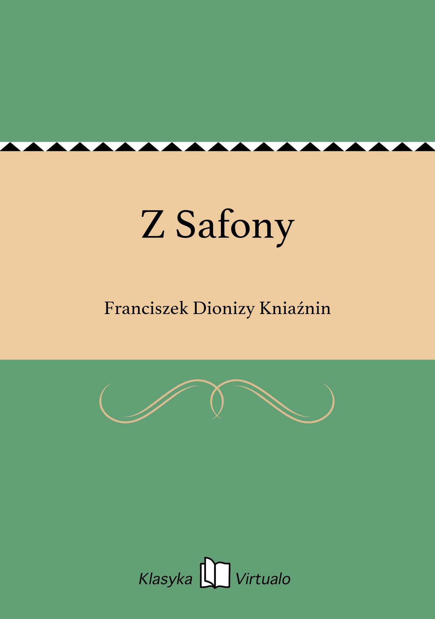 Z Safony - Ebook (Książka EPUB) do pobrania w formacie EPUB
