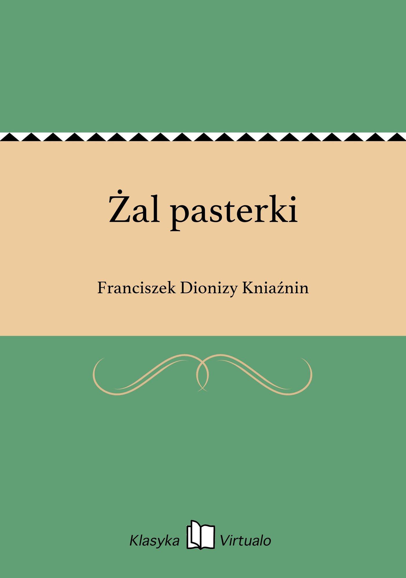 Żal pasterki - Ebook (Książka EPUB) do pobrania w formacie EPUB