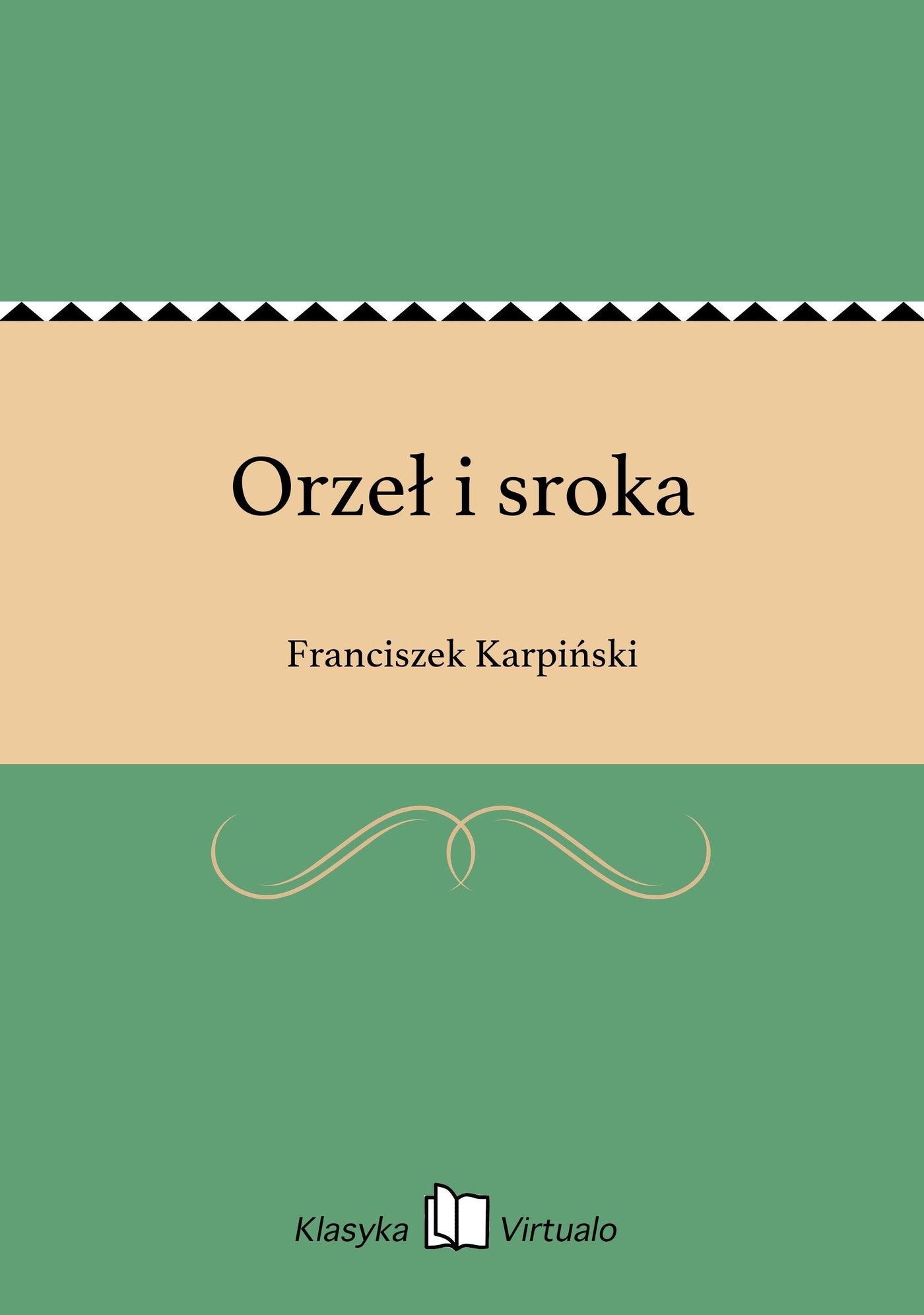 Orzeł i sroka - Ebook (Książka EPUB) do pobrania w formacie EPUB