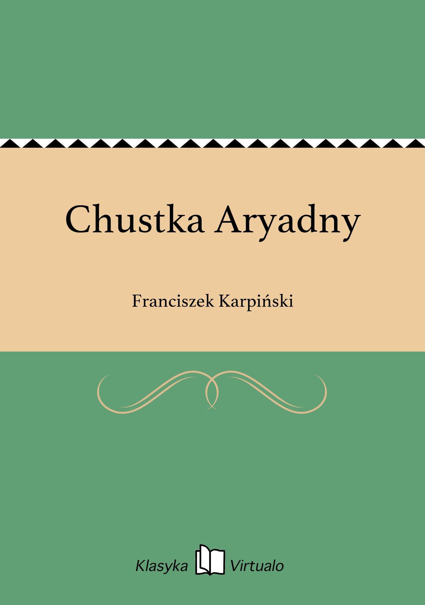 Chustka Aryadny - Ebook (Książka EPUB) do pobrania w formacie EPUB