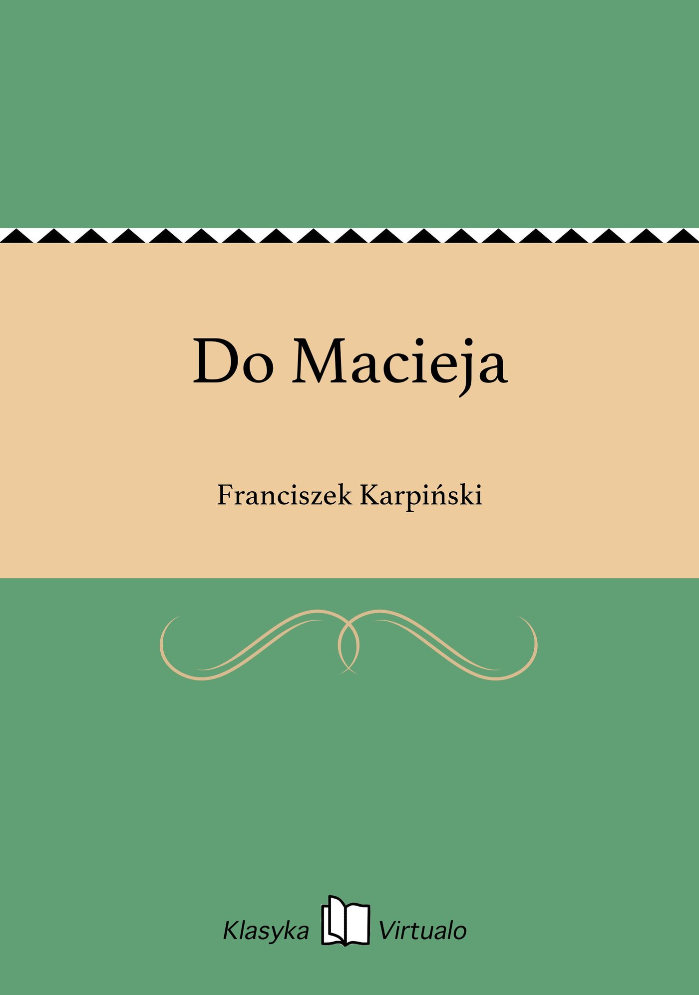 Do Macieja - Ebook (Książka EPUB) do pobrania w formacie EPUB