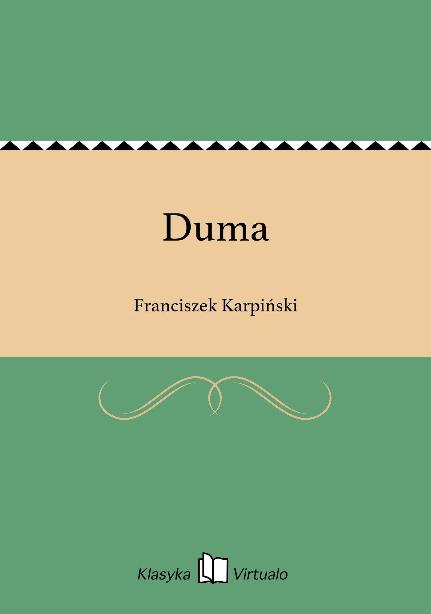 Duma - Ebook (Książka EPUB) do pobrania w formacie EPUB