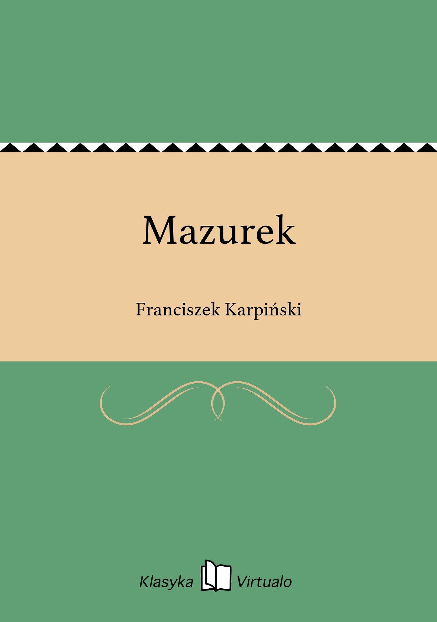Mazurek - Ebook (Książka EPUB) do pobrania w formacie EPUB