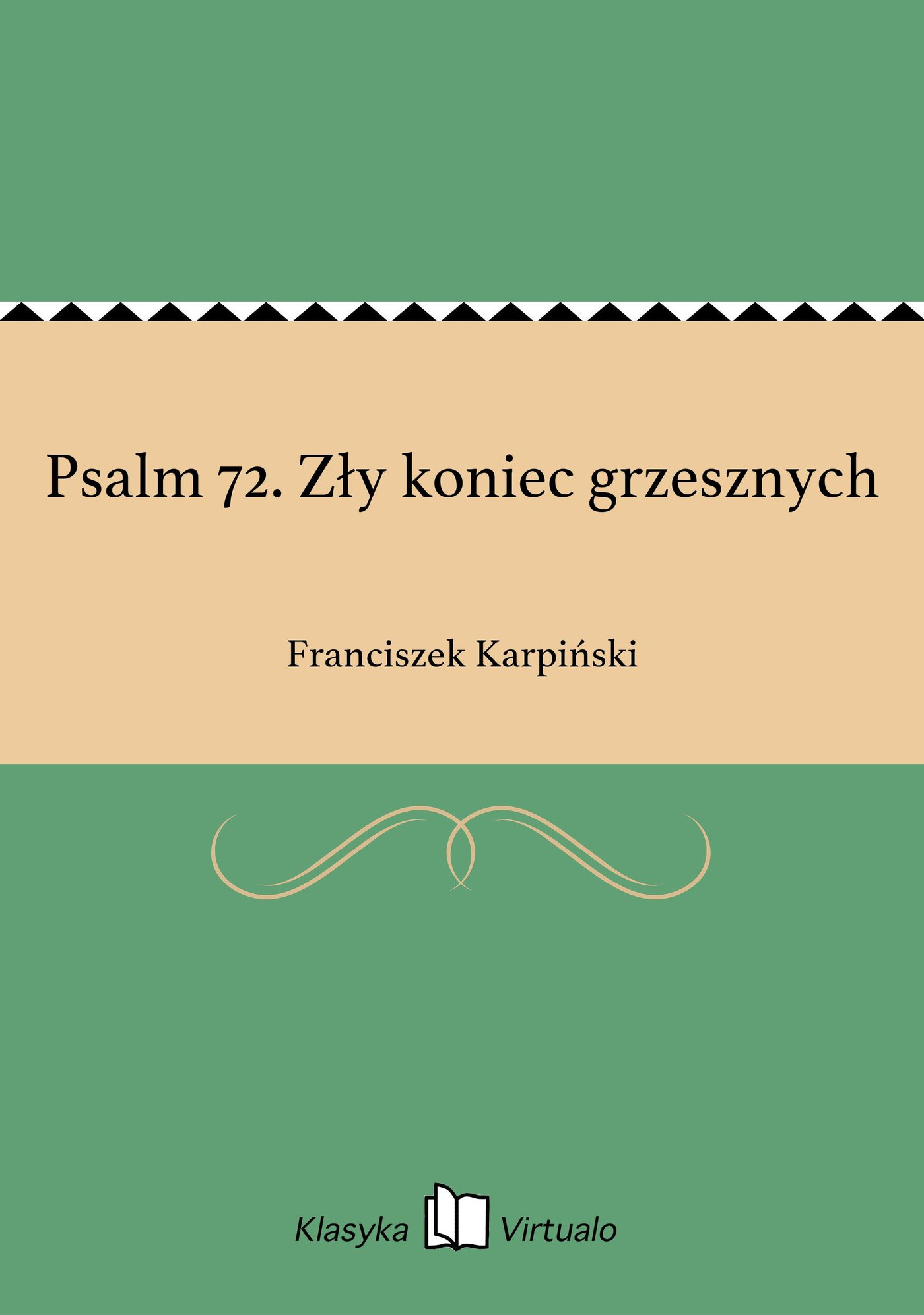 Psalm 72. Zły koniec grzesznych - Ebook (Książka EPUB) do pobrania w formacie EPUB