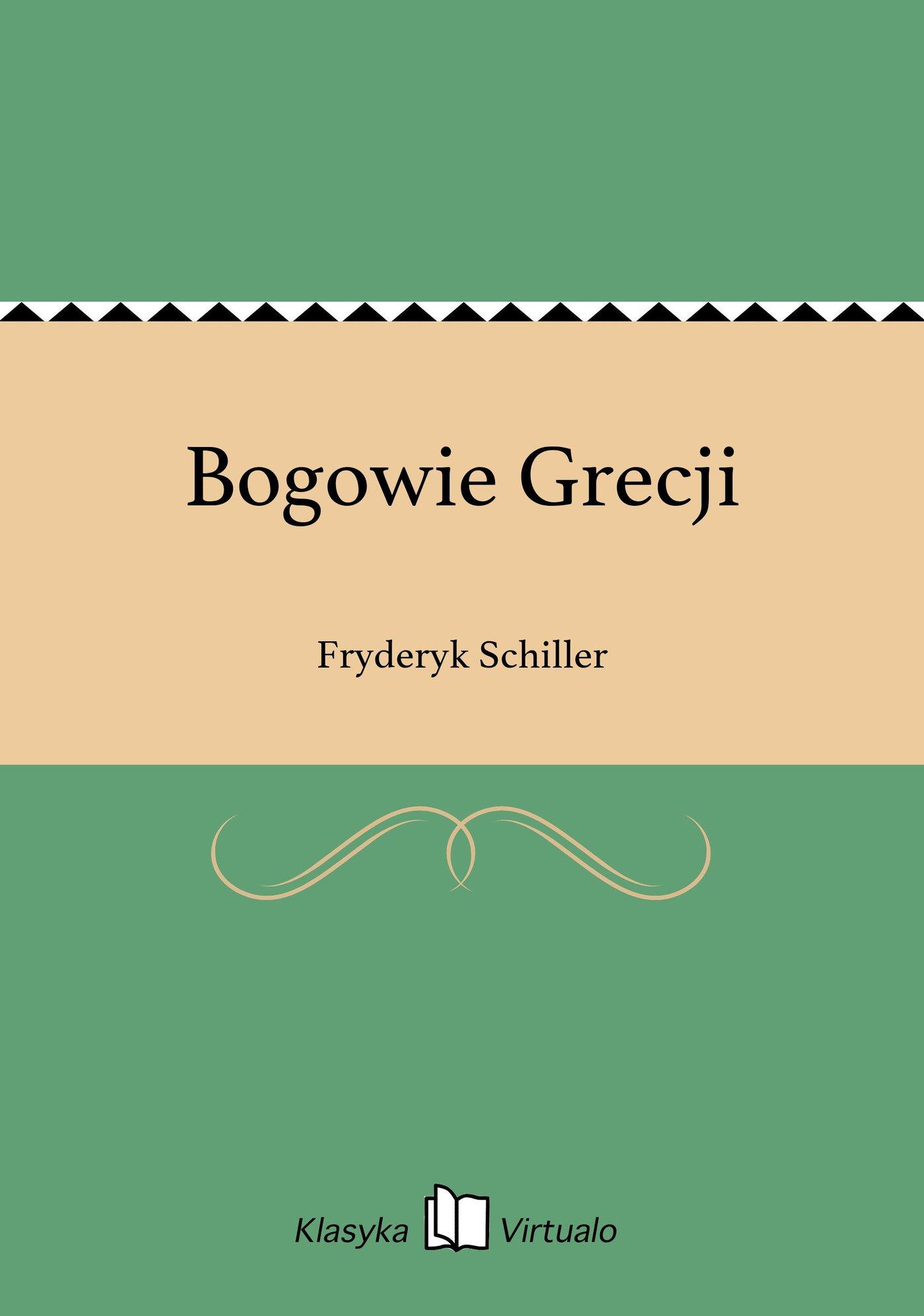 Bogowie Grecji - Ebook (Książka EPUB) do pobrania w formacie EPUB