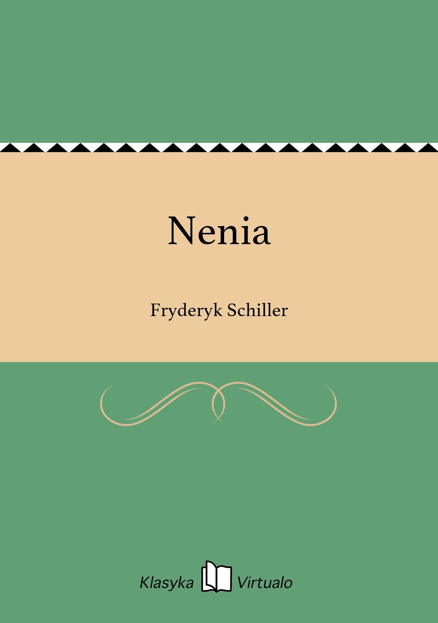 Nenia - Ebook (Książka EPUB) do pobrania w formacie EPUB