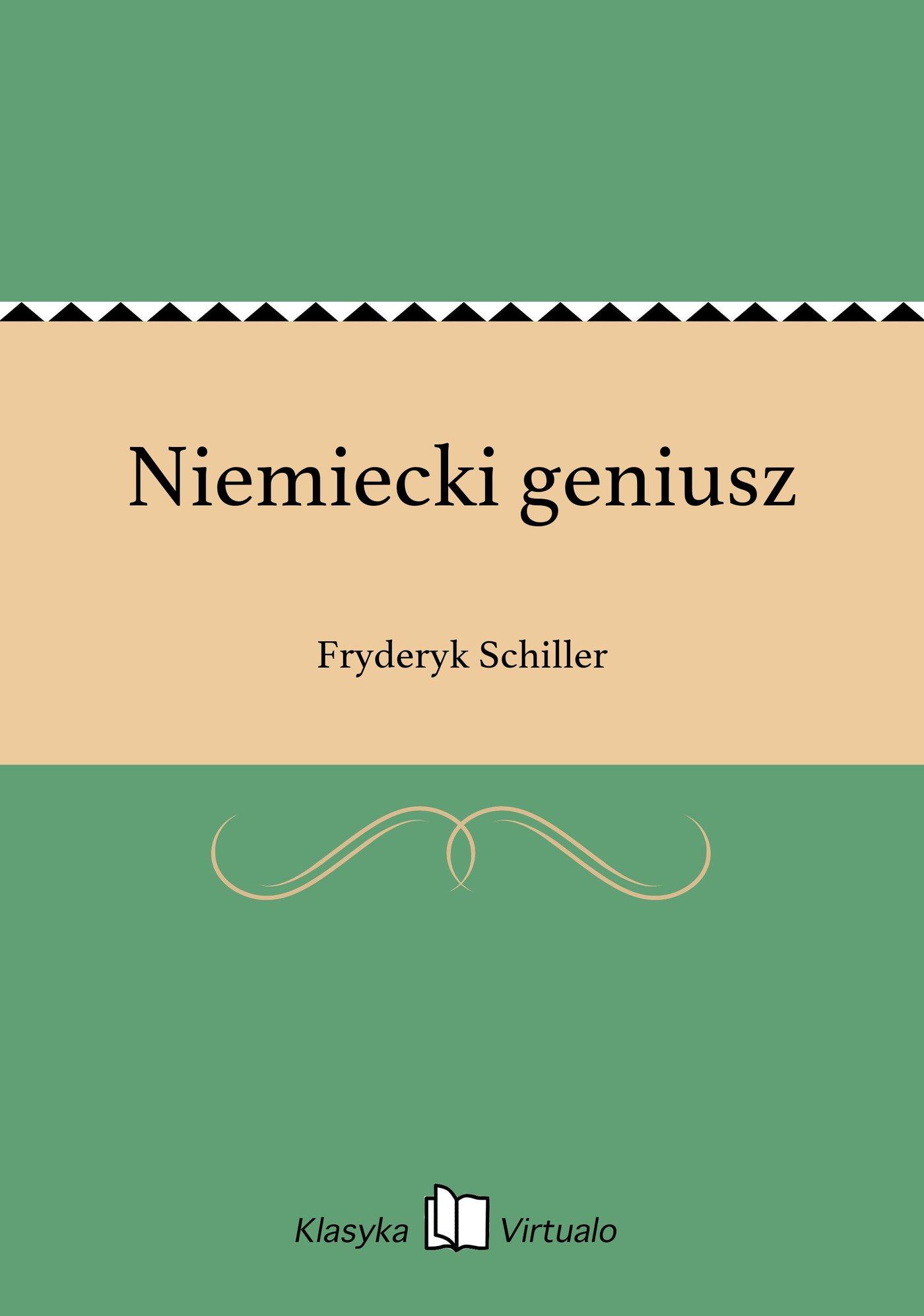 Niemiecki geniusz - Ebook (Książka EPUB) do pobrania w formacie EPUB