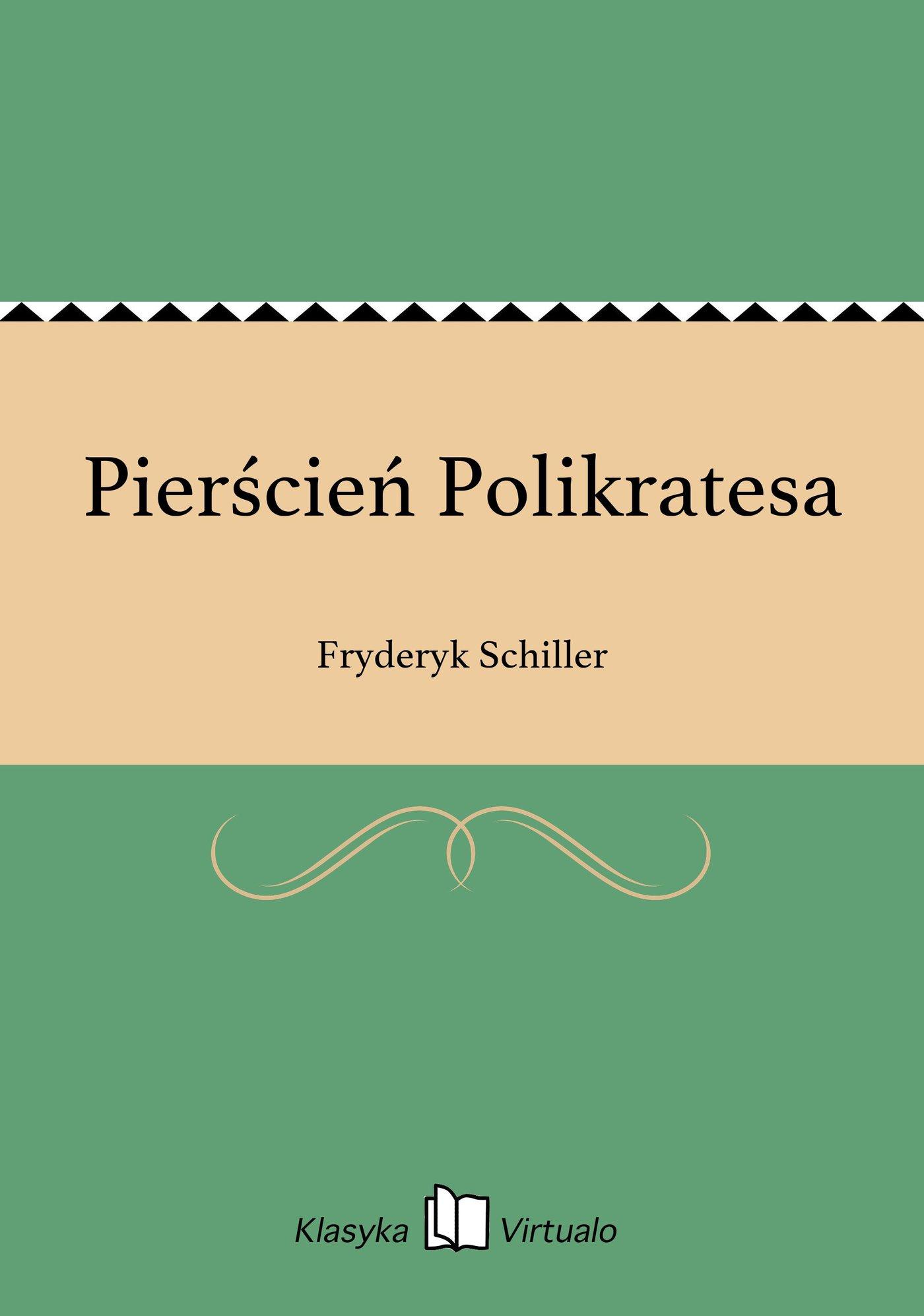 Pierścień Polikratesa - Ebook (Książka EPUB) do pobrania w formacie EPUB