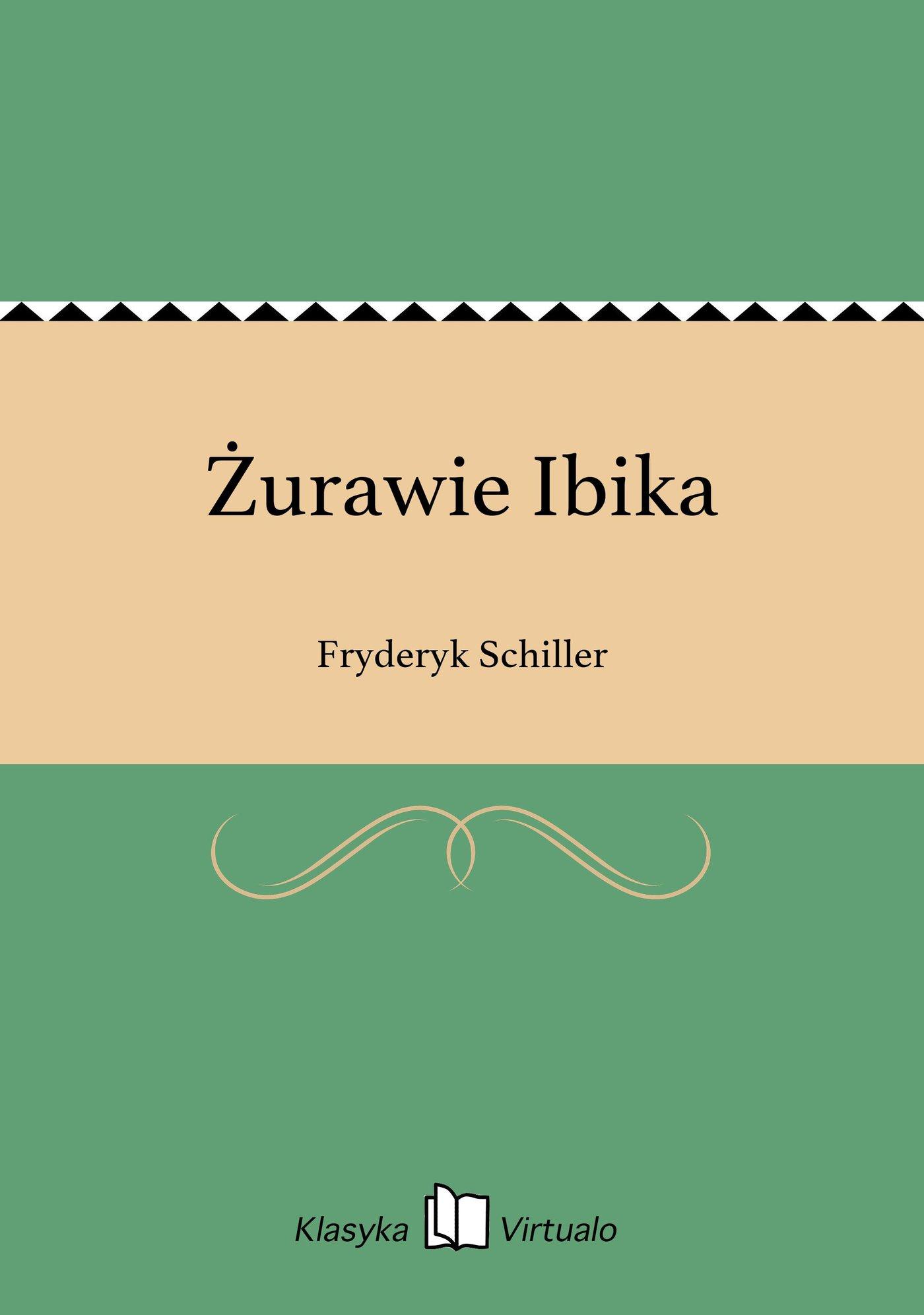 Żurawie Ibika - Ebook (Książka EPUB) do pobrania w formacie EPUB