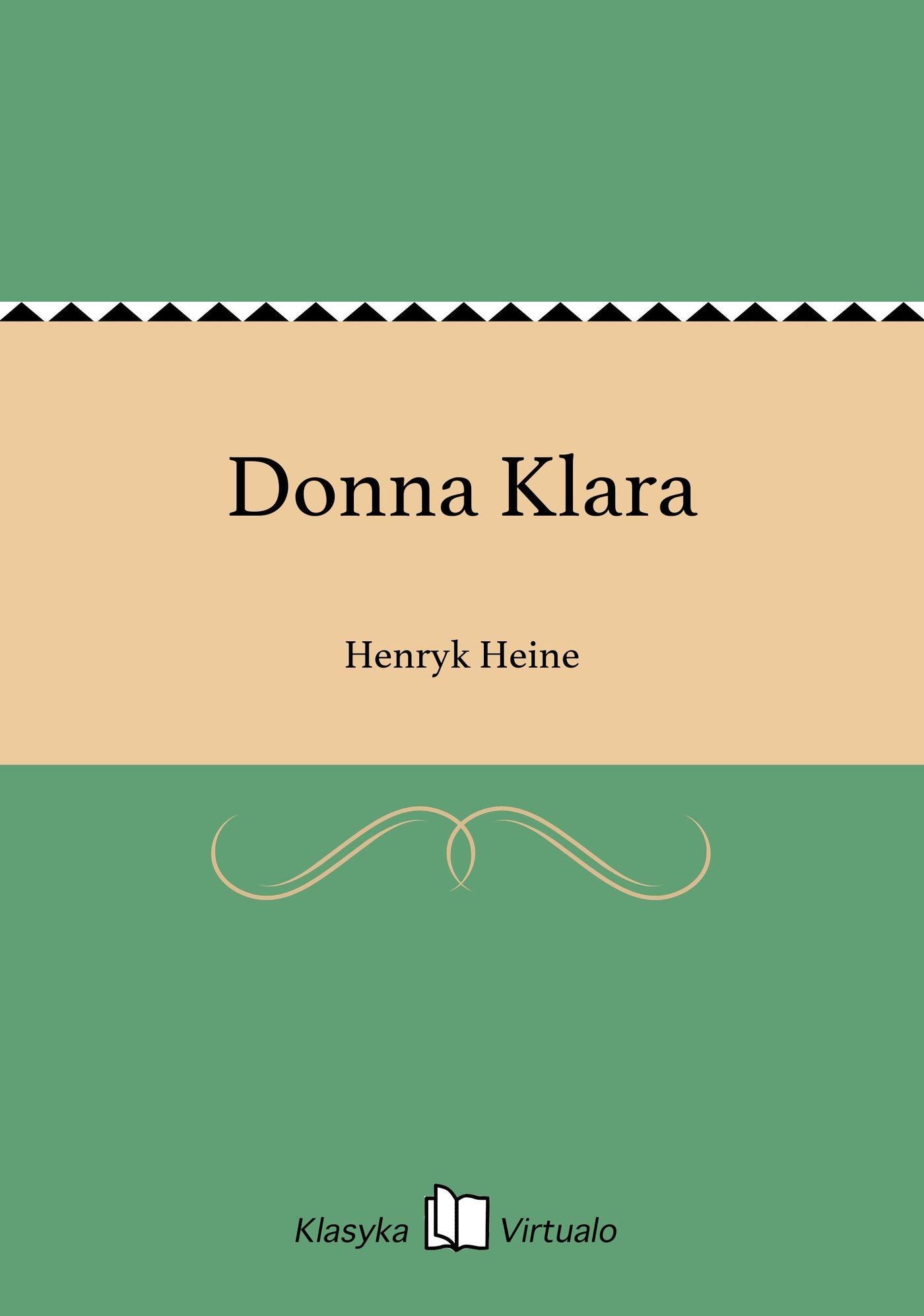 Donna Klara - Ebook (Książka EPUB) do pobrania w formacie EPUB