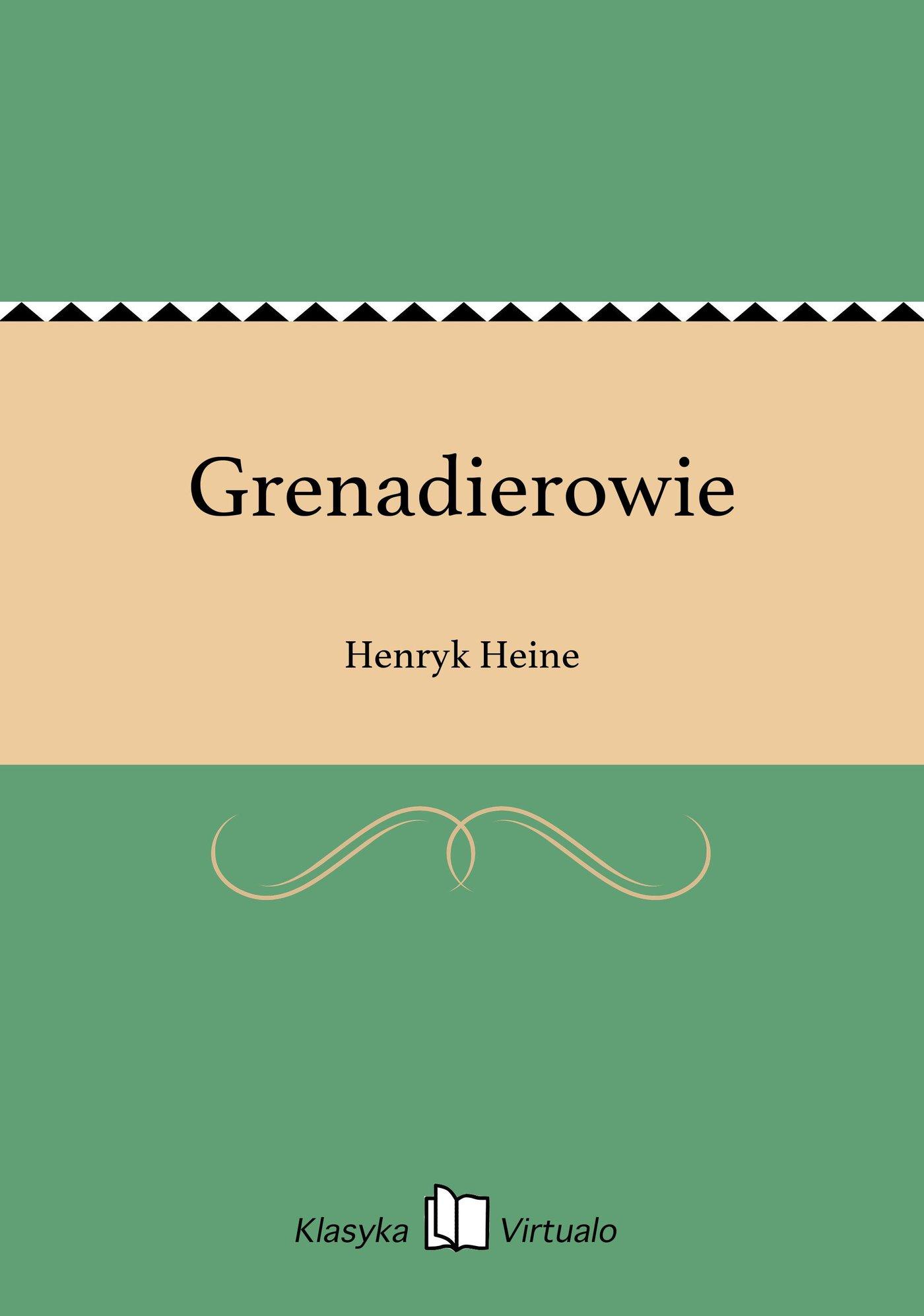 Grenadierowie - Ebook (Książka EPUB) do pobrania w formacie EPUB