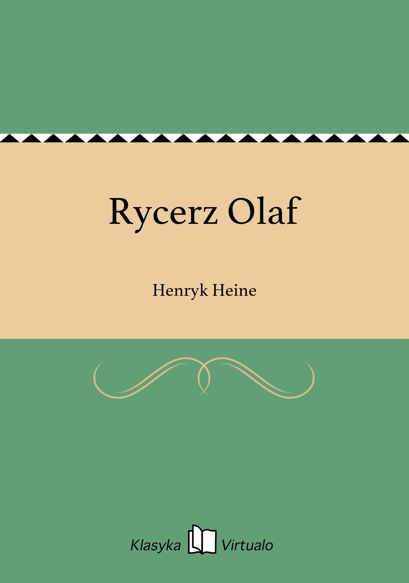 Rycerz Olaf - Ebook (Książka EPUB) do pobrania w formacie EPUB