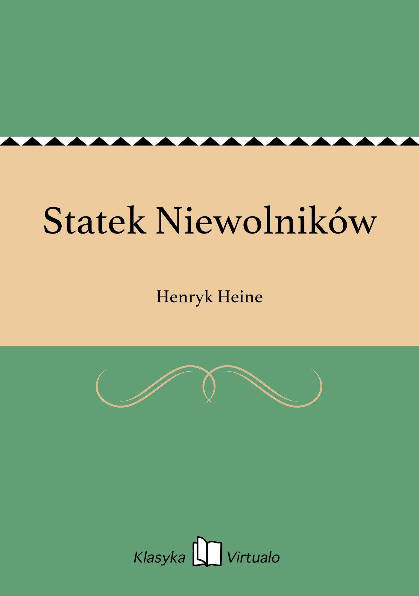 Statek Niewolników - Ebook (Książka EPUB) do pobrania w formacie EPUB