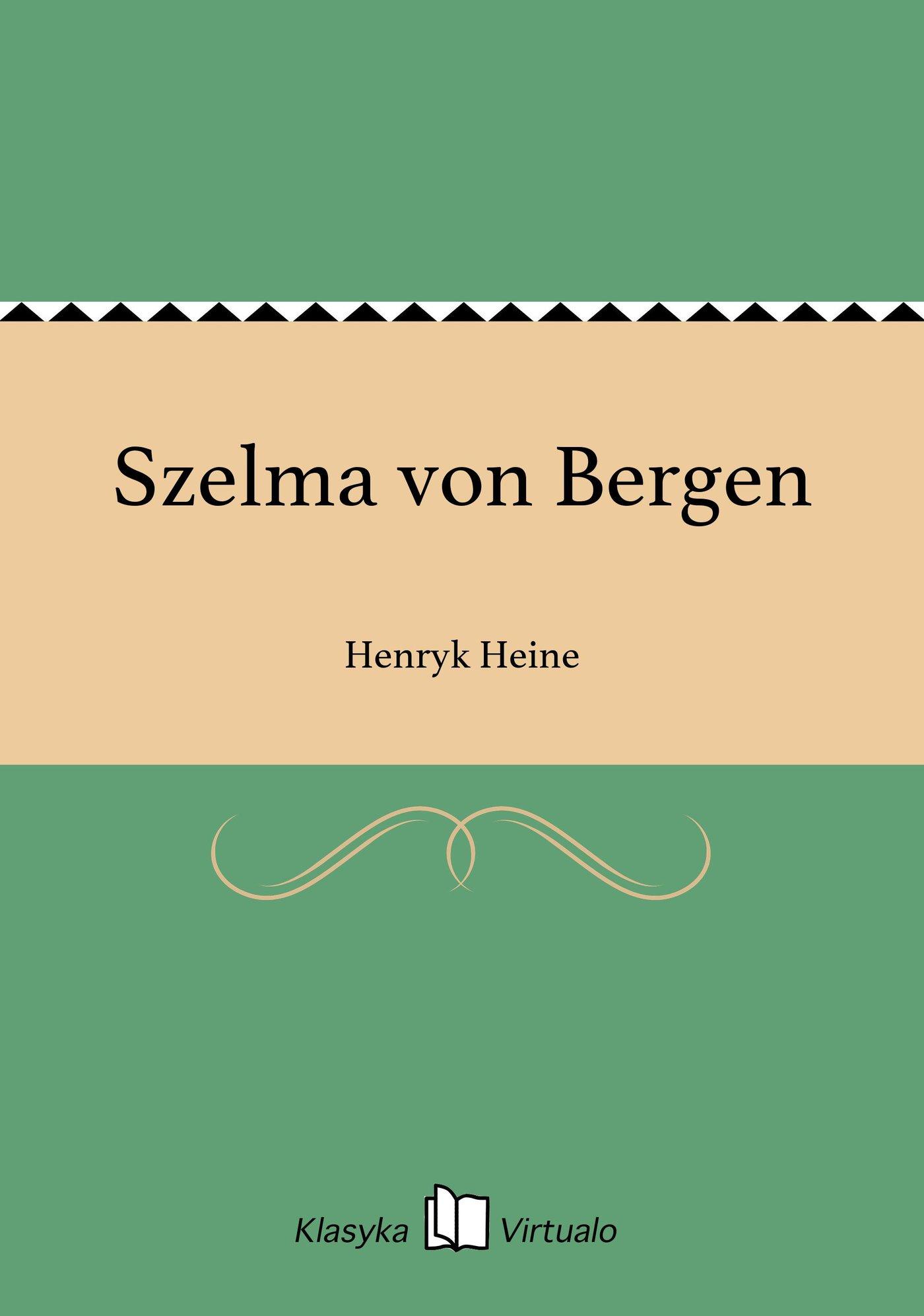 Szelma von Bergen - Ebook (Książka EPUB) do pobrania w formacie EPUB